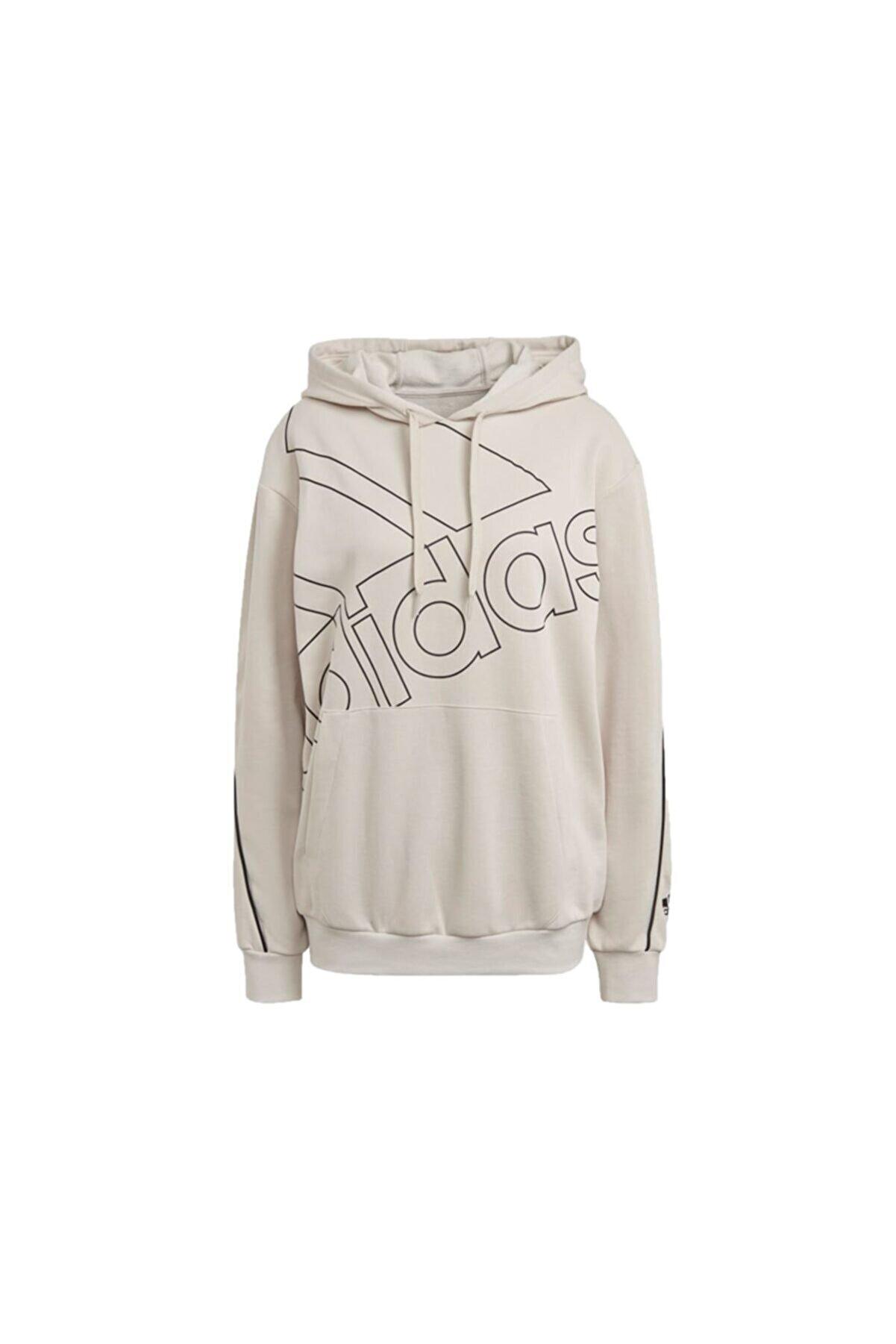 adidas Kadın Antrenman Sweatshirts Gm5517 Krem W Fav Q1 Hd