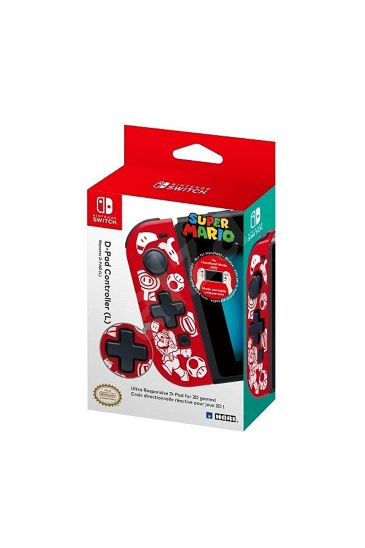 Hori D-pad Controller Super Mario Nintendo Switch Oyun Kolu