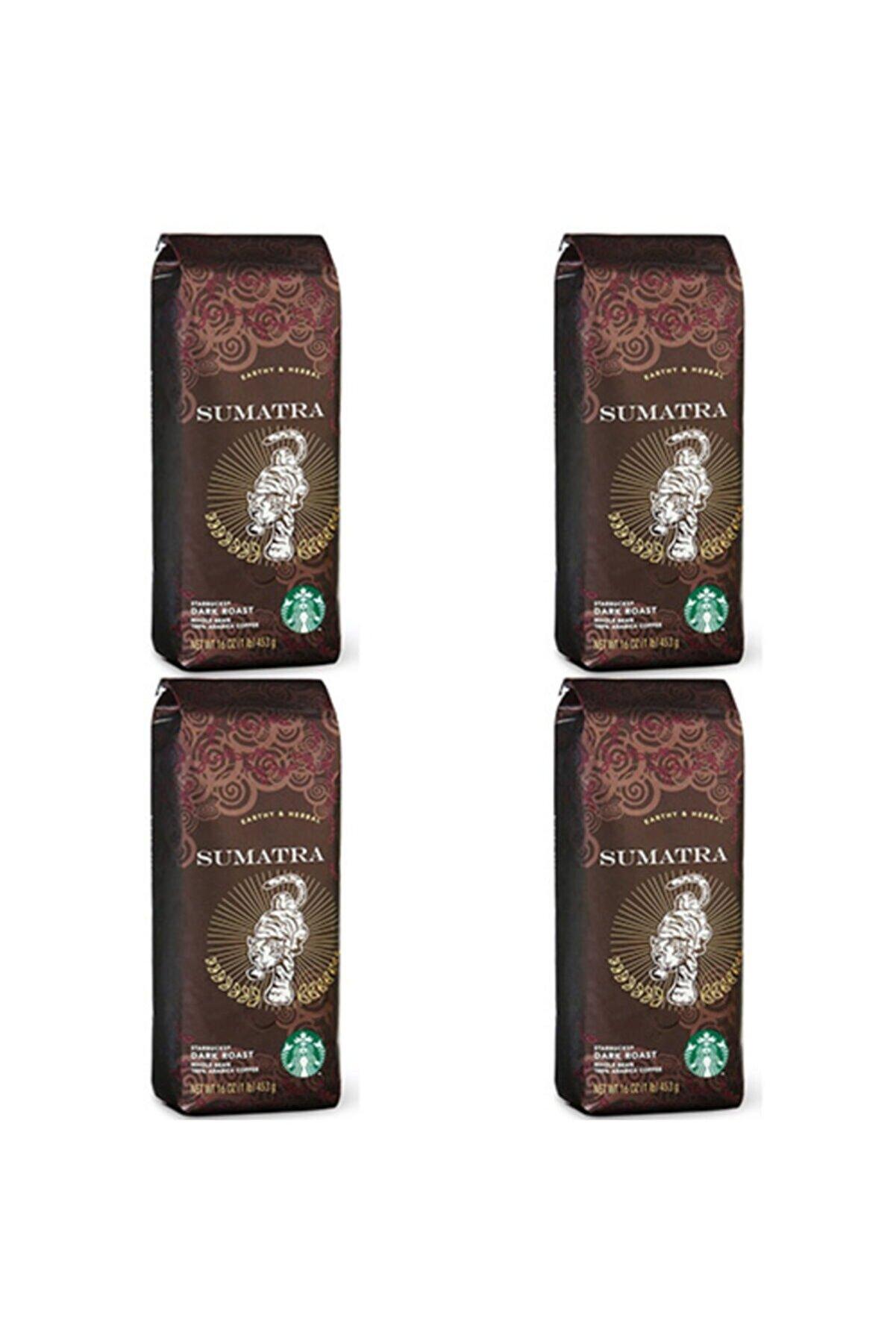 Starbucks Sumatra 250 Gr Çekirdek Kahve X 4 Adet