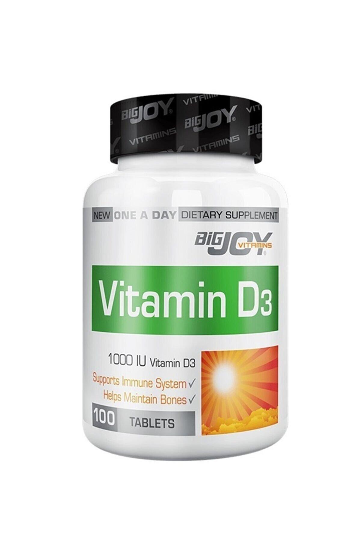 Bigjoy Sports Bigjoy Vitamins Vitamin D3 1000 Iu - 100 Tablet