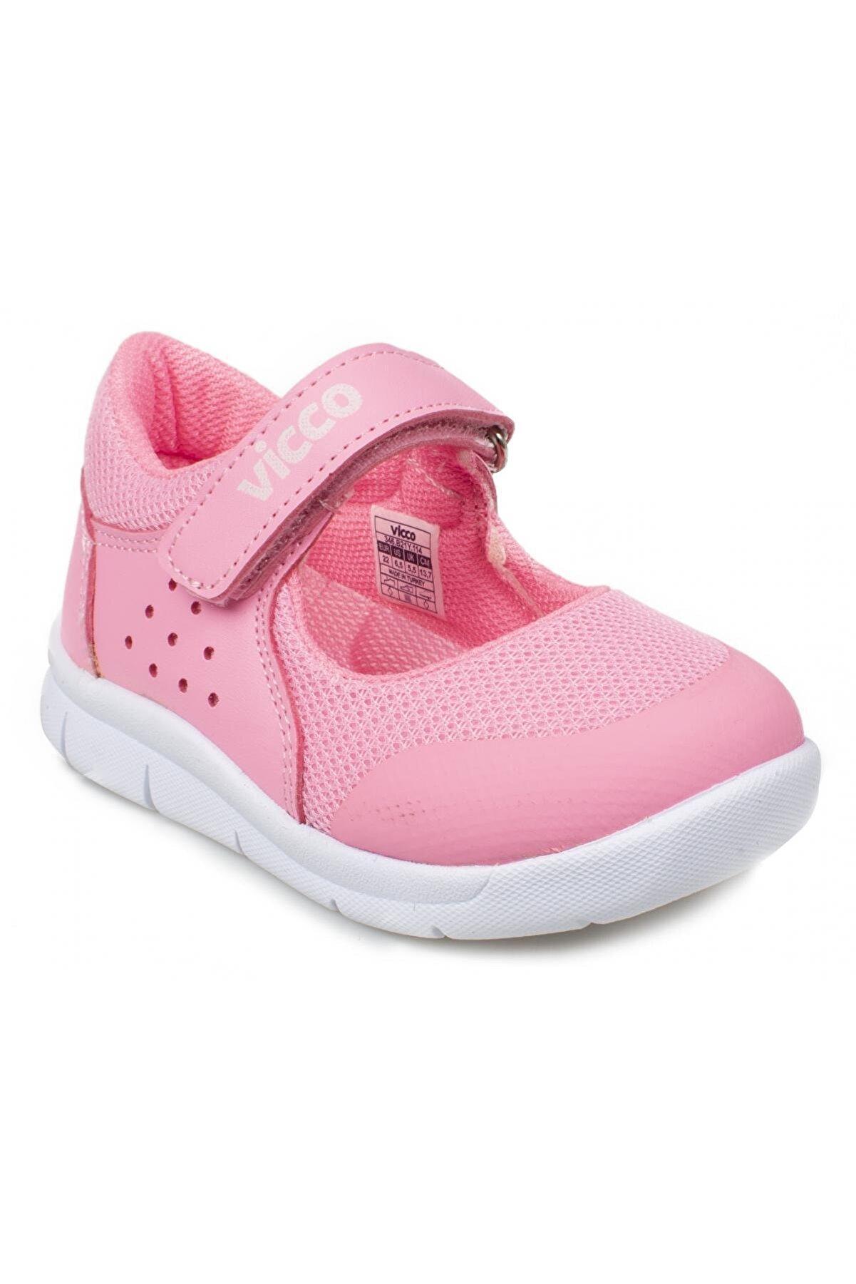 Vicco Lucy Bebe Phylon Pembe Kız Çocuk Ayakkabı