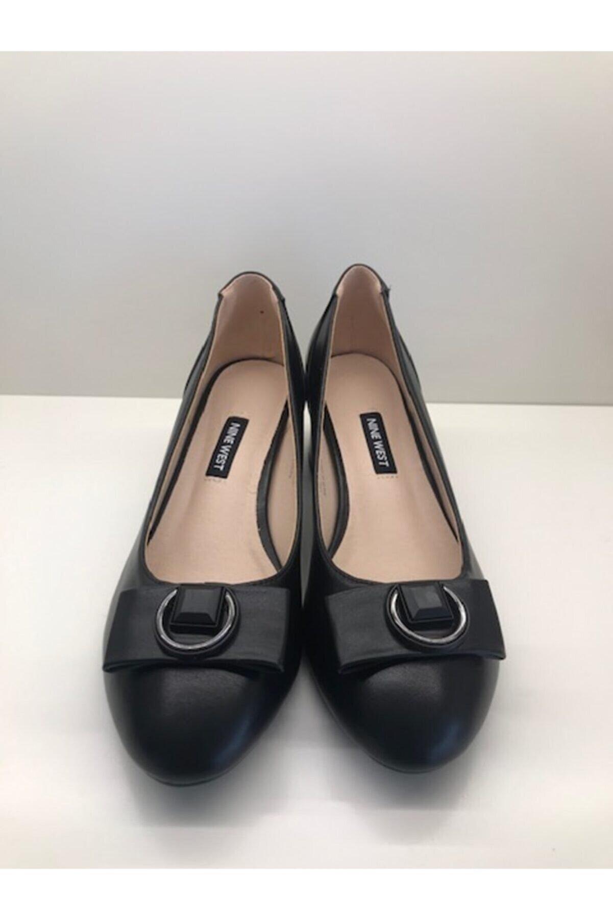 Nine West JODEE 1FX Siyah Kadın Klasik Topuklu Ayakkabı 101029358