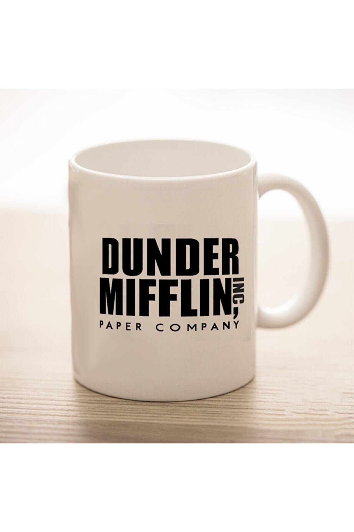 HomeDays Dunder Mifflin, World's Best Boss Beyaz Kupa Bardak