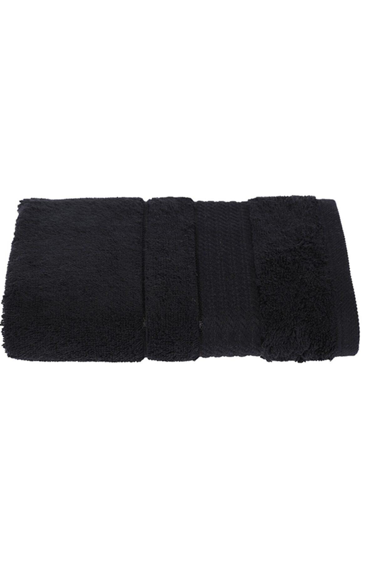 Özdilek Siyah Soft Pamuk El-yüz Havlusu