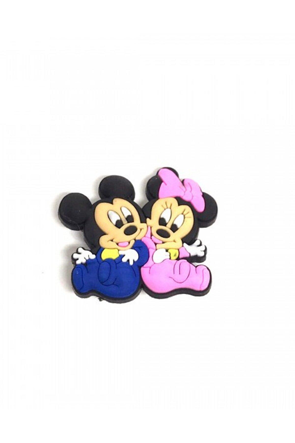 Crocs Jibbitz Terlik Süsü Mickey Minnie Mouse