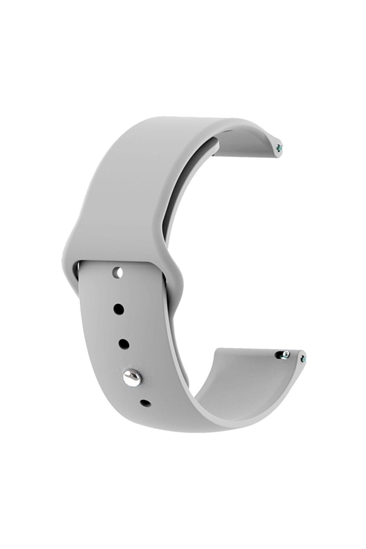 Microsonic Huawei Watch Gt2 Pro Silicone Sport Band Gri Uyumlu