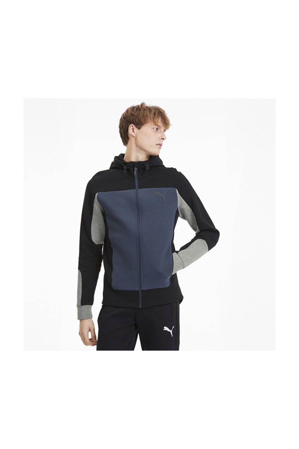 Puma EVOSTRIPE Hooded Jacket Erkek Sweatshirt