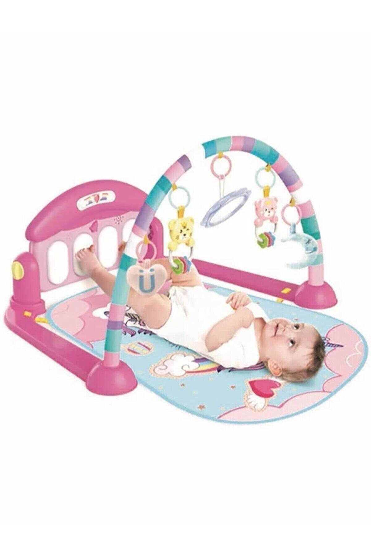 Babycim Piyanolu Unicorn Oyun Halısı