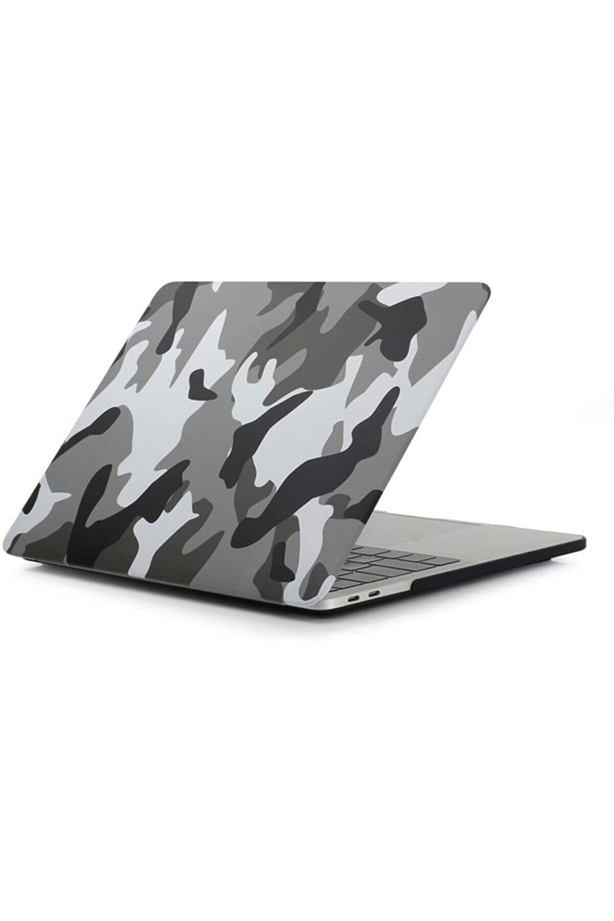 "CODEGEN Apple 13"" Macbook Air 2020 (m1) A2337 Kamuflaj Kılıf Koruyucu Kapak Cmatm-133cf"