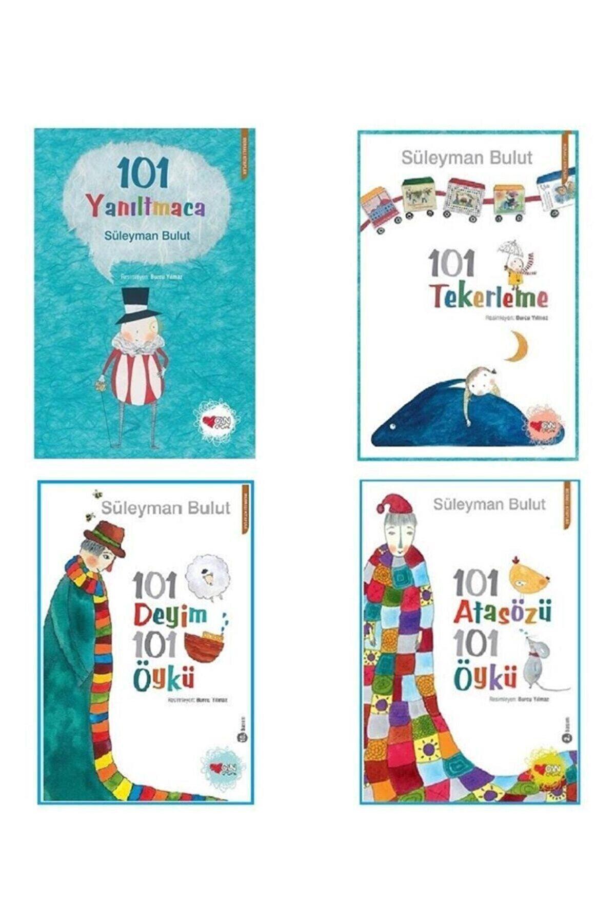 Can Çocuk Yayınları 101 Deyim 101 Öykü 101 Atasözü 101 Öykü Tekerleme Yanıltmaca 4 Kitap Set