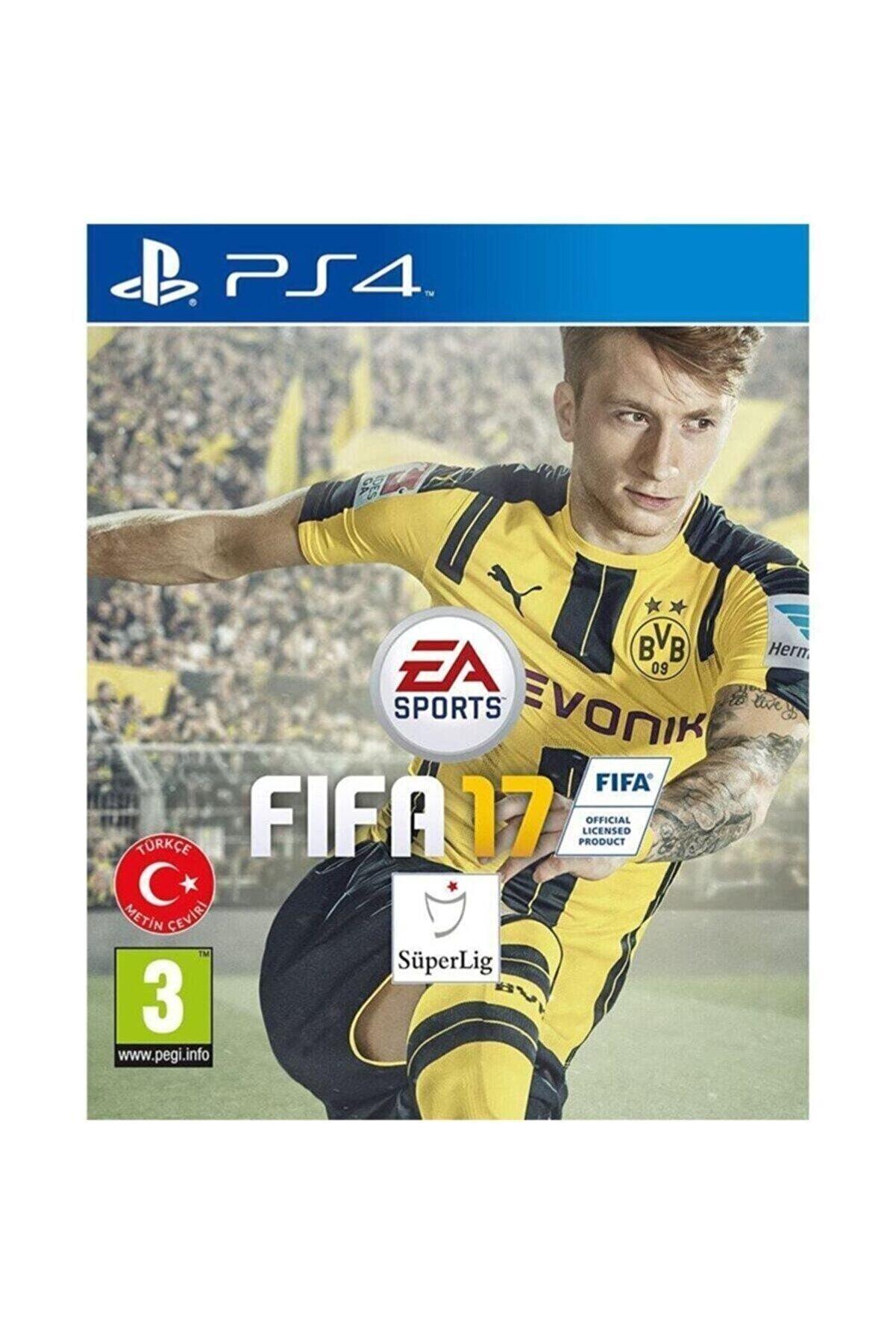 Electronic Arts Fifa 17 Fifa 2017 Türkçe Menü Ps4 Oyun