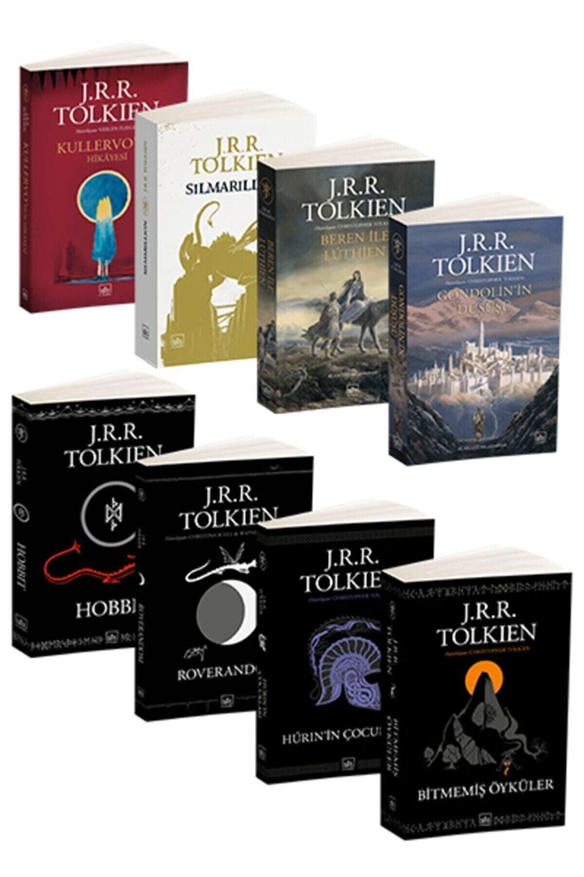 İthaki Yayınları J.R.R. Tolkien 8 Kitap Takım
