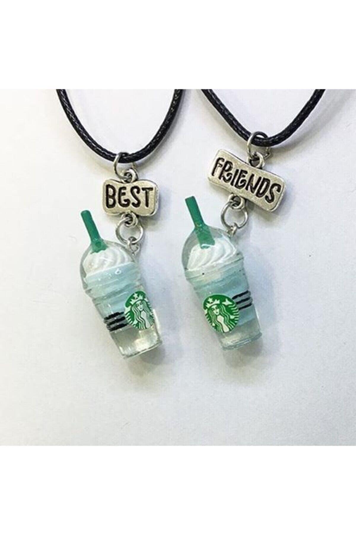 LapisButik Best Friends Starbucks Kolye