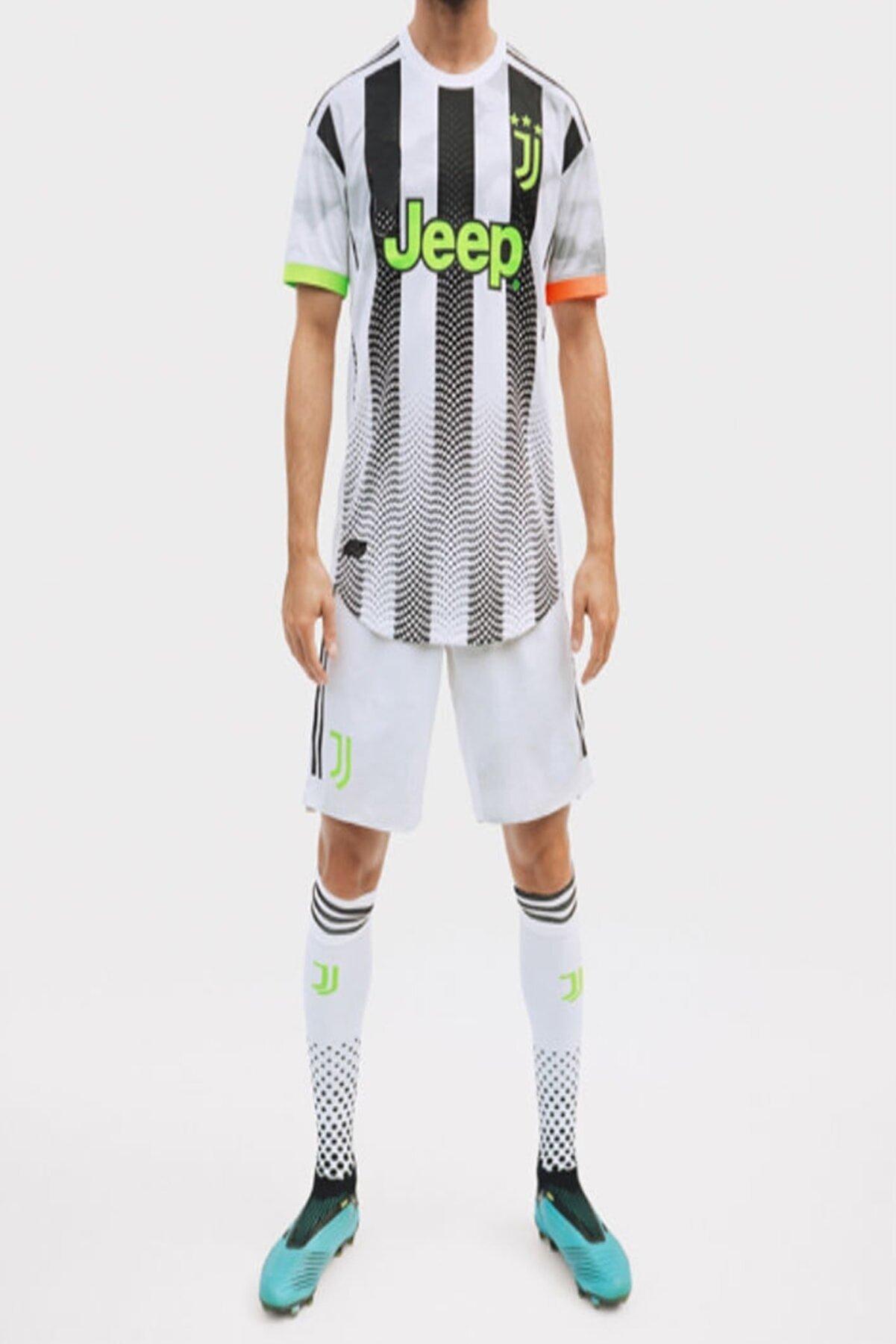 Nbag Erkek Siyah Juventus Ronaldo Forma Ve Şort Takımı