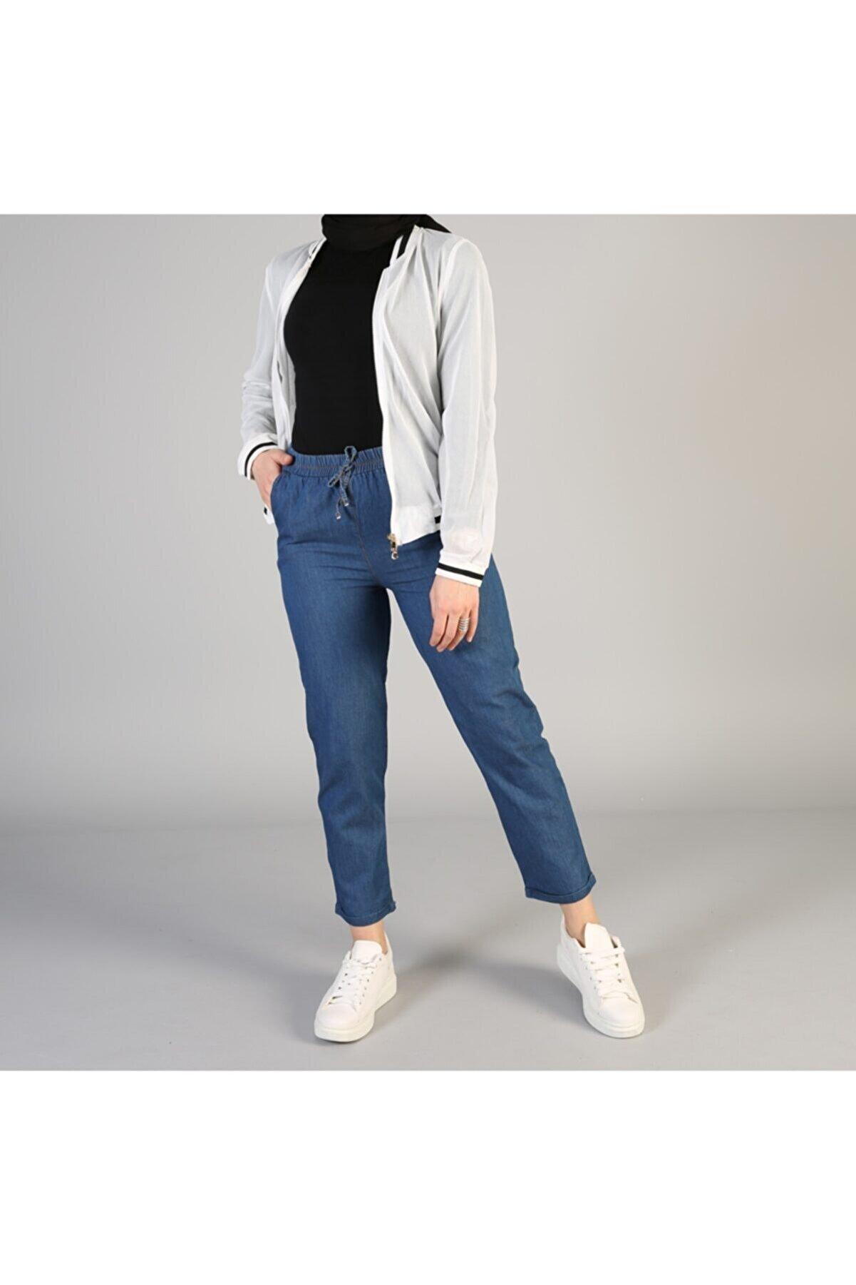 sinanurmoda Kadın Duble Paça Kot Pantolon