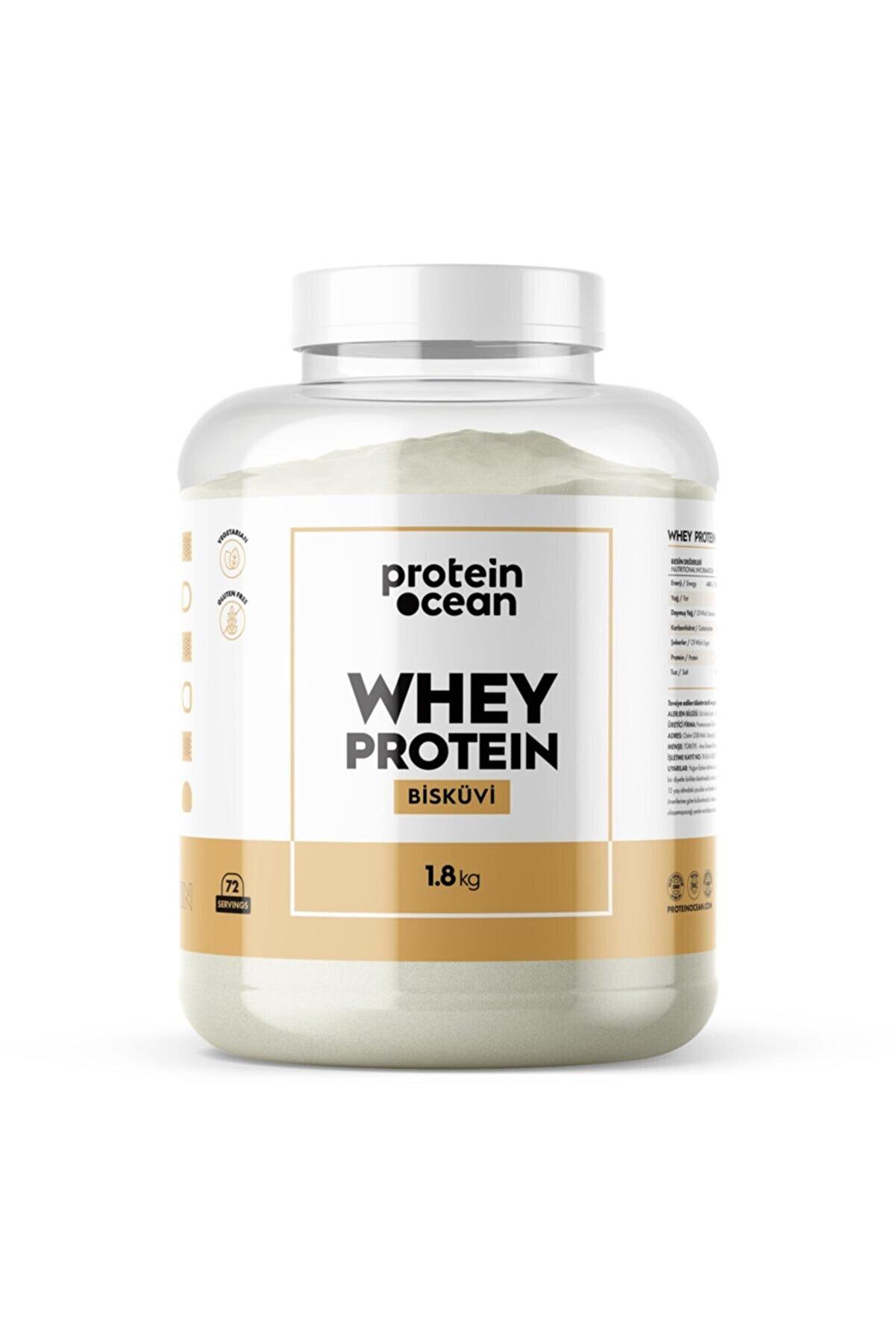 Proteinocean Whey Proteın™ 1.8 Kg Bisküvi