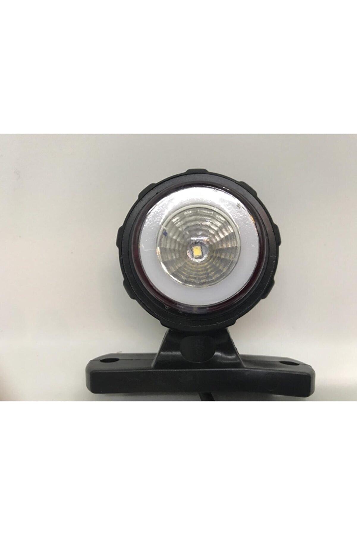 HCD Neon Mini Takoz Lamba Kırmızı-beyaz 5 Adet
