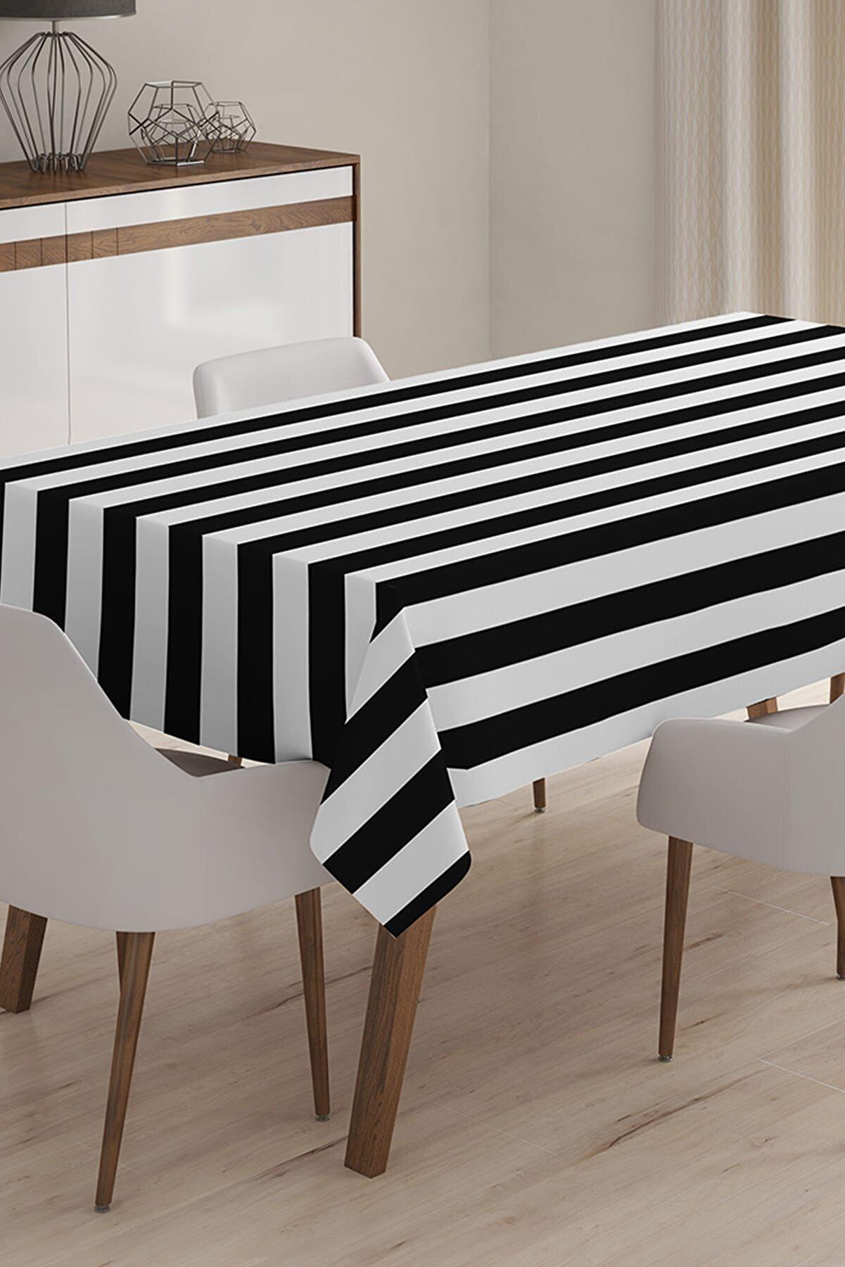 Realhomes Özel Tasarım 3D Dijital Baskılı Masa Örtüsü - 120 x 140 cm