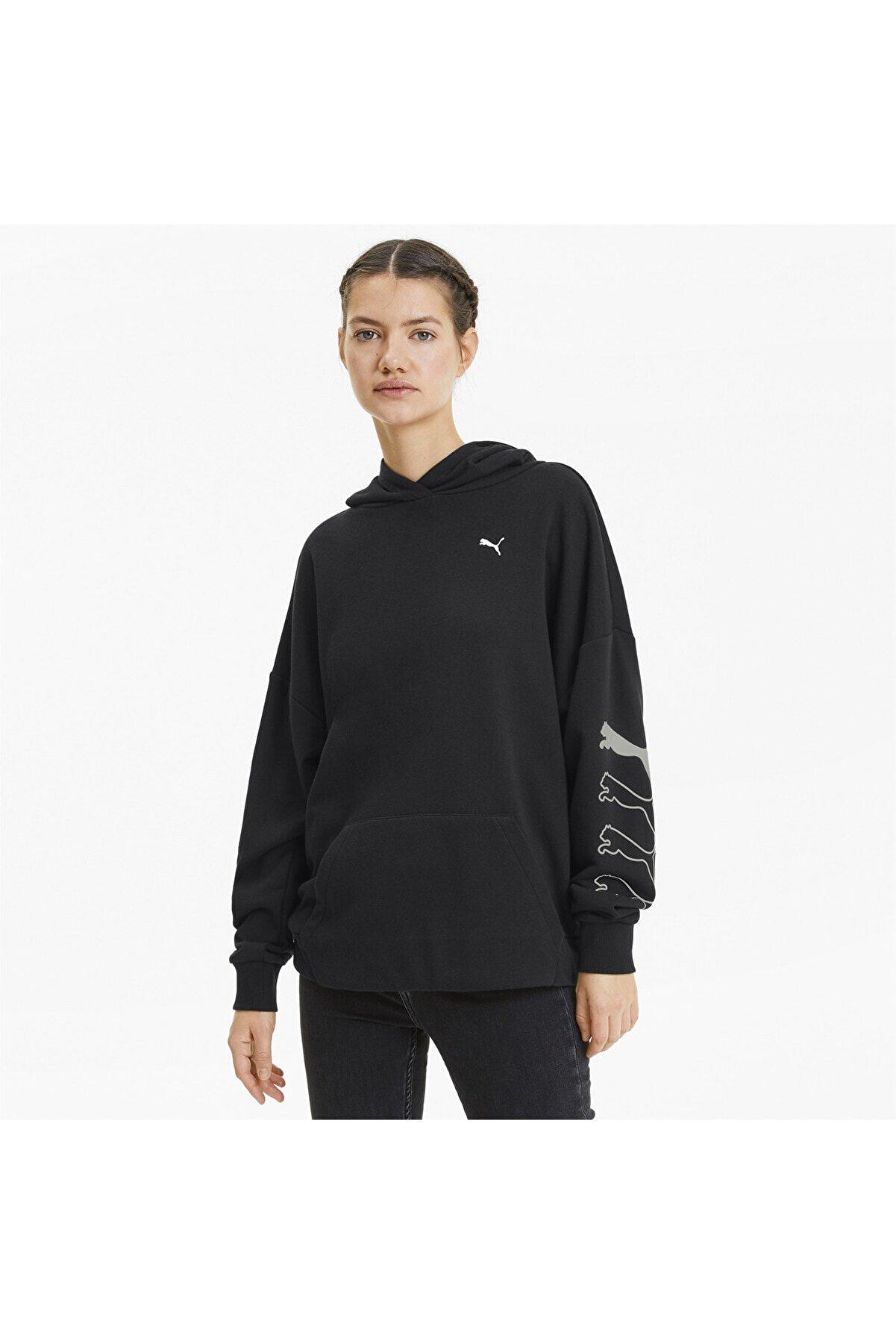 Puma Kadın Spor Sweatshirt - REBEL - 58130901