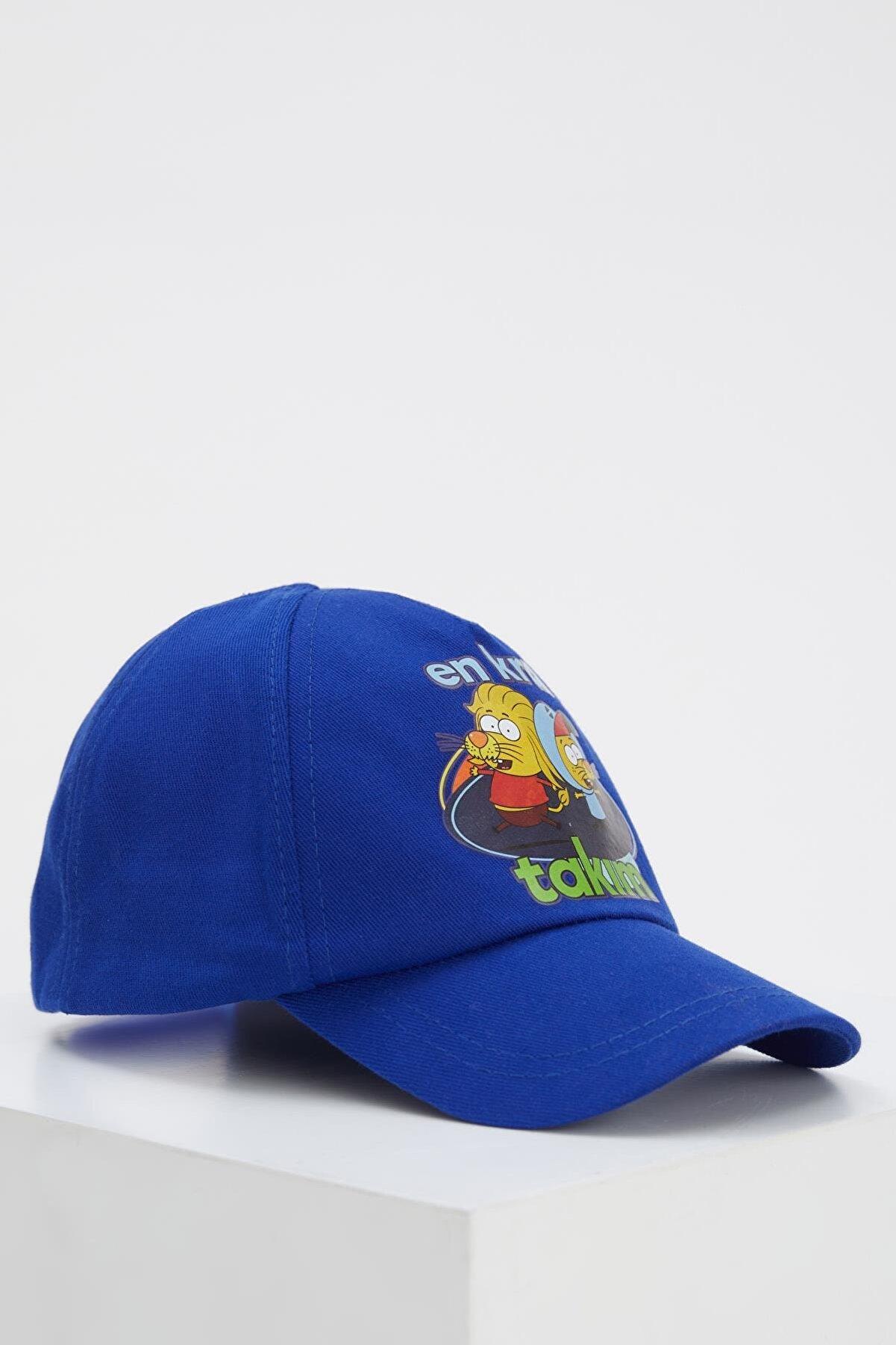 Defacto Erkek Çocuk Kral Şakir Lisanslı Baseball Şapka