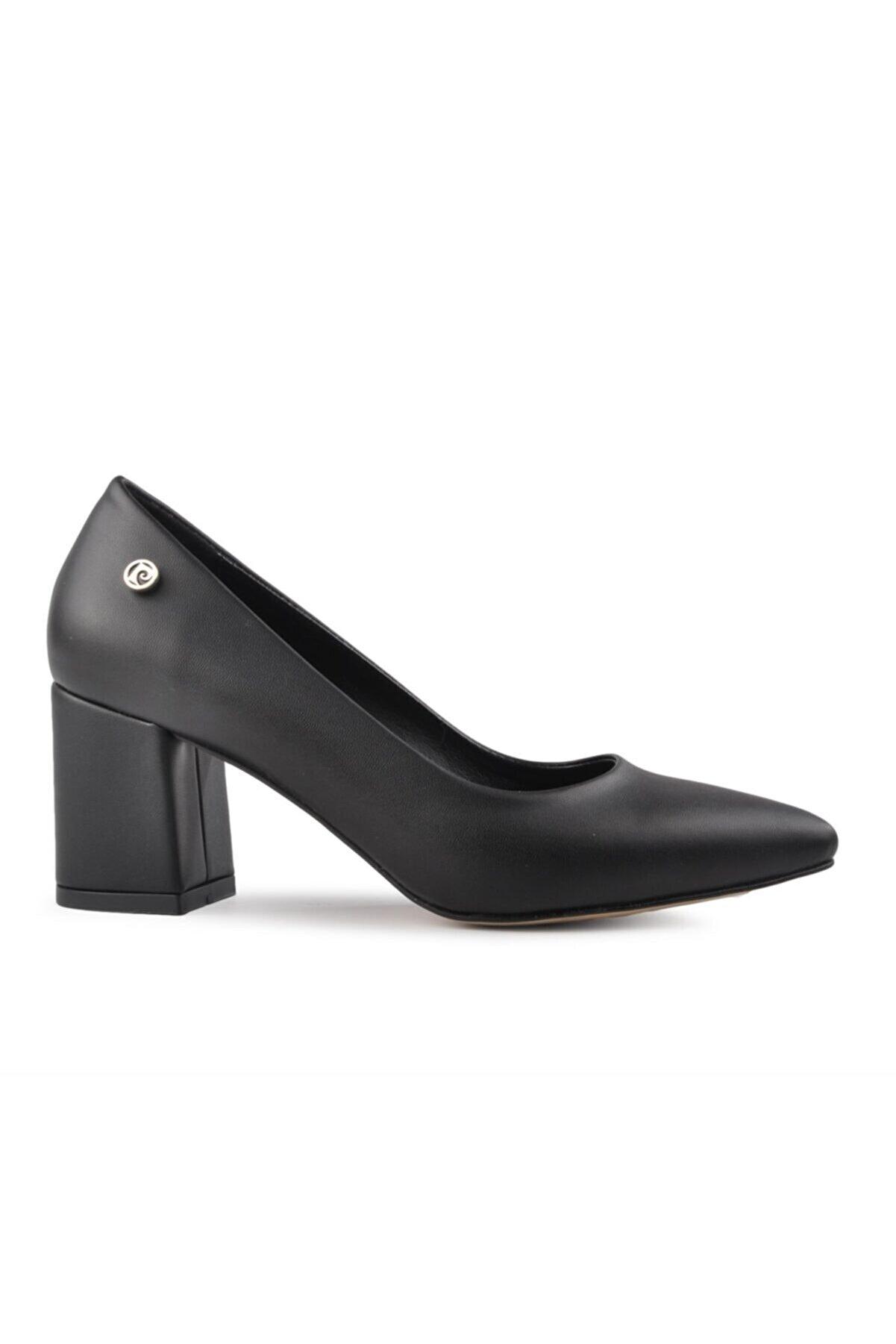 Pierre Cardin 50176 Siyah Kadın Topuklu Ayakkabı