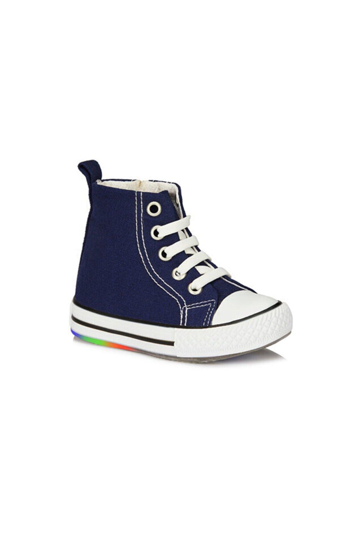Vicco Punto Bebe Işıklı Keten Ayakkabı