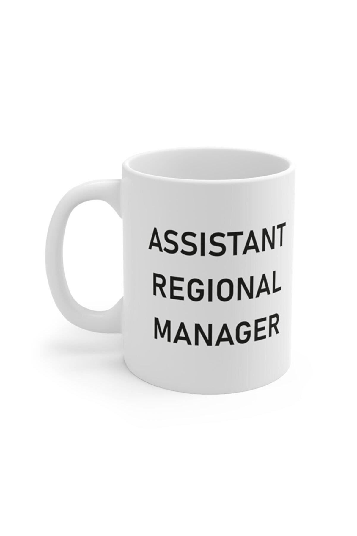 Mugs&Gift The Office Tv Series Assistant Regional Manager Baskılı Kupa Bardak
