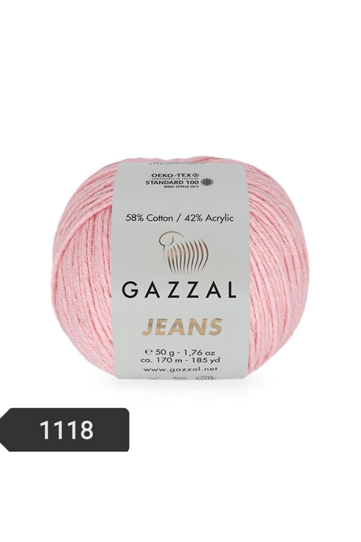 Gazzal Jeans Amigurumi Ipi El Örgü Ipi 50 Gr Renk Kodu-1118-