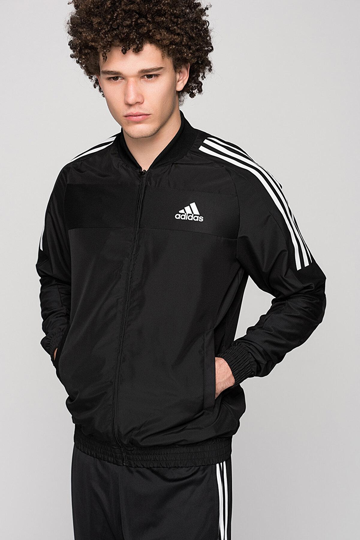 adidas Erkek Sweatshirt - Club Jacket - B45845
