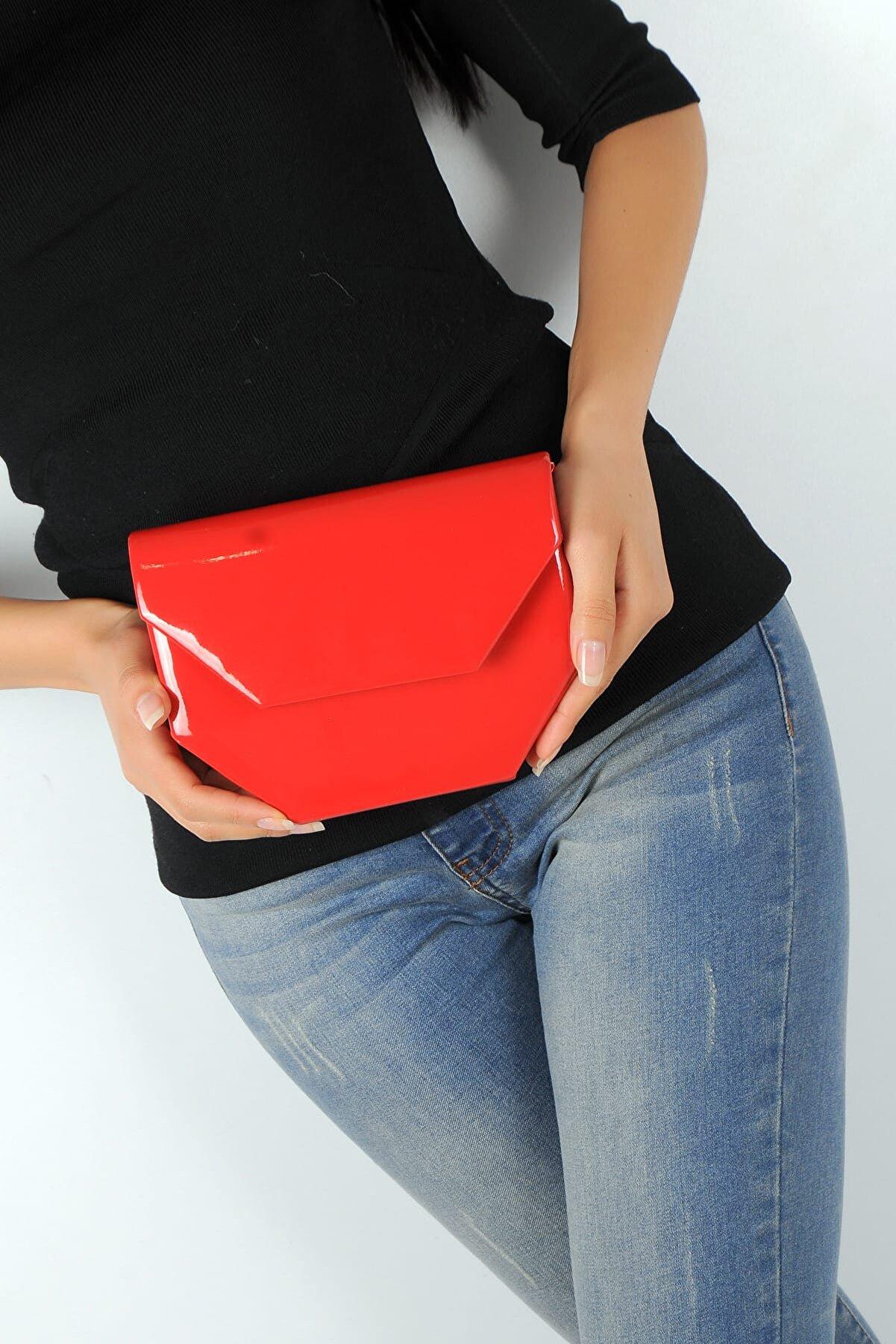 WMİLANO Kırmızı Kadın Abiye Çanta C0310-19