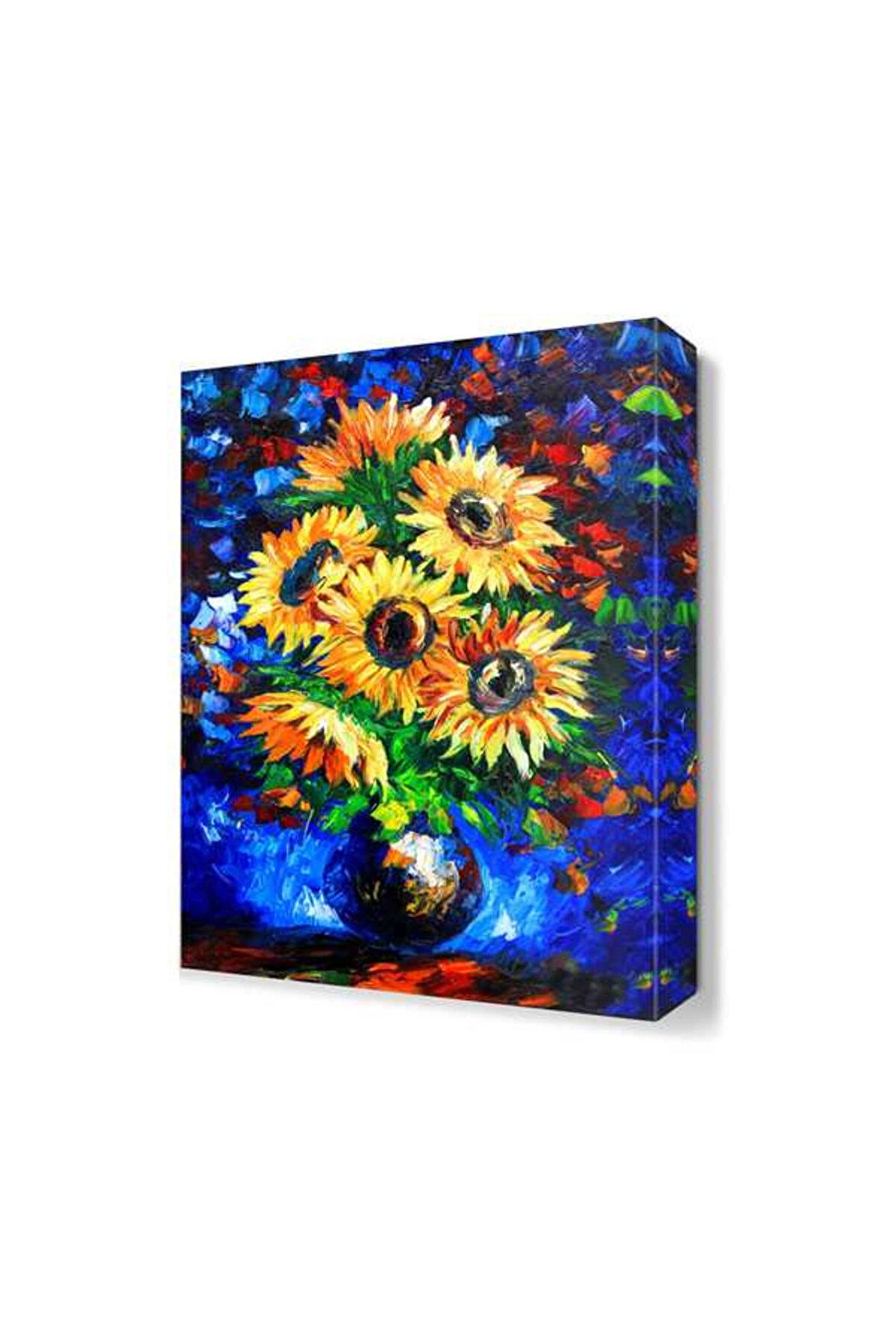Dekor Sevgisi Ayçiçeği Canvas Tablo  60x40 DTC14530990