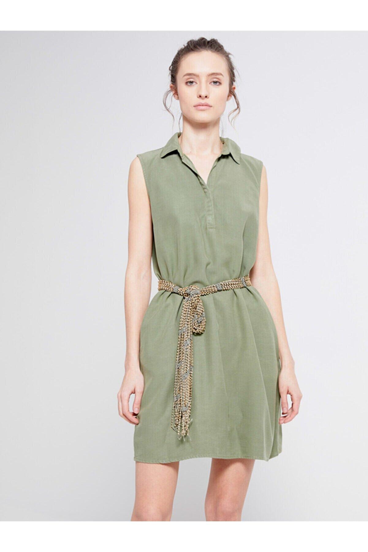 Ltb Yeşil Elbise