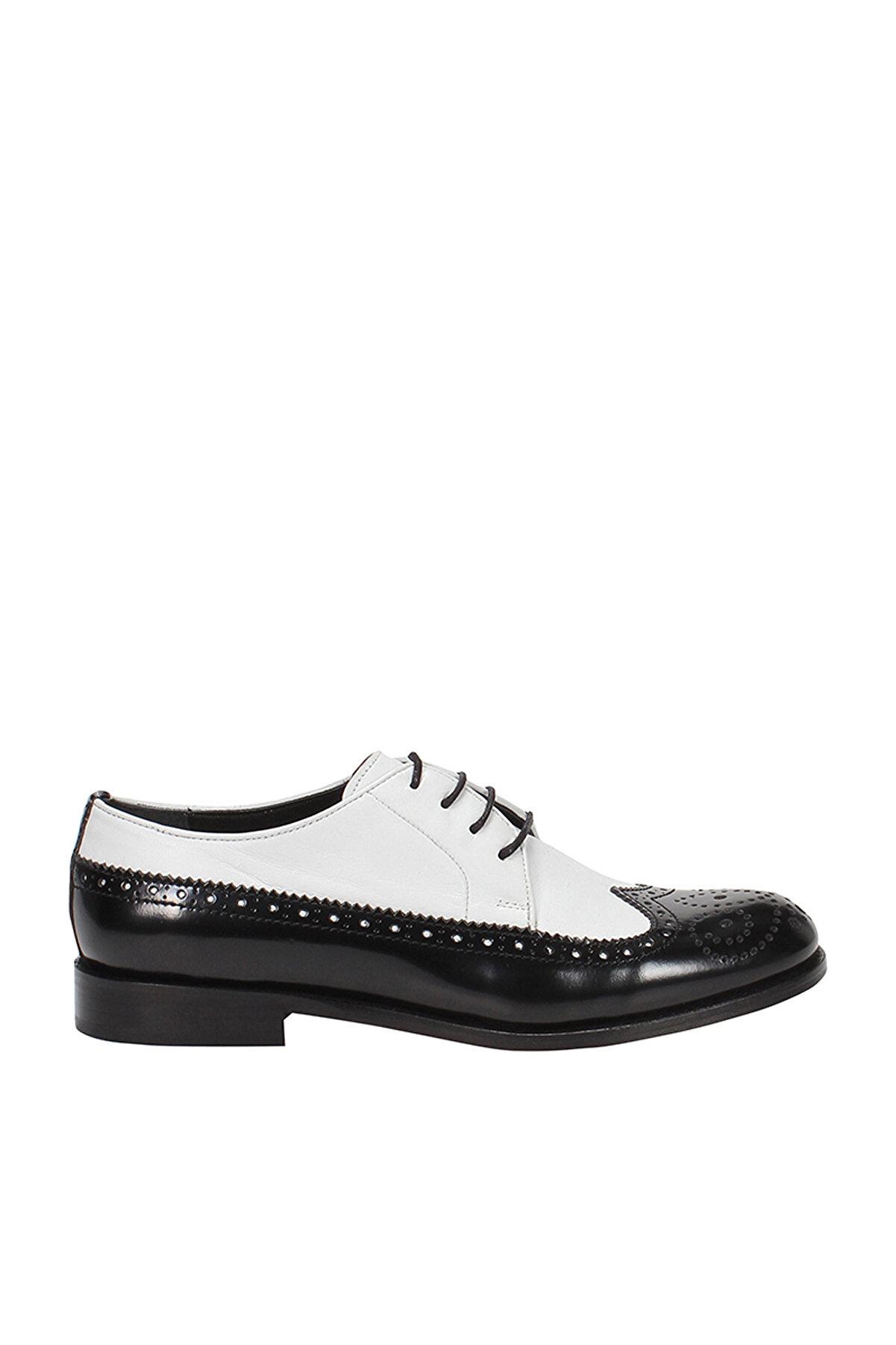 İnci Hakiki Deri Beyaz Kadın Casual Ayakkabı 120130003614