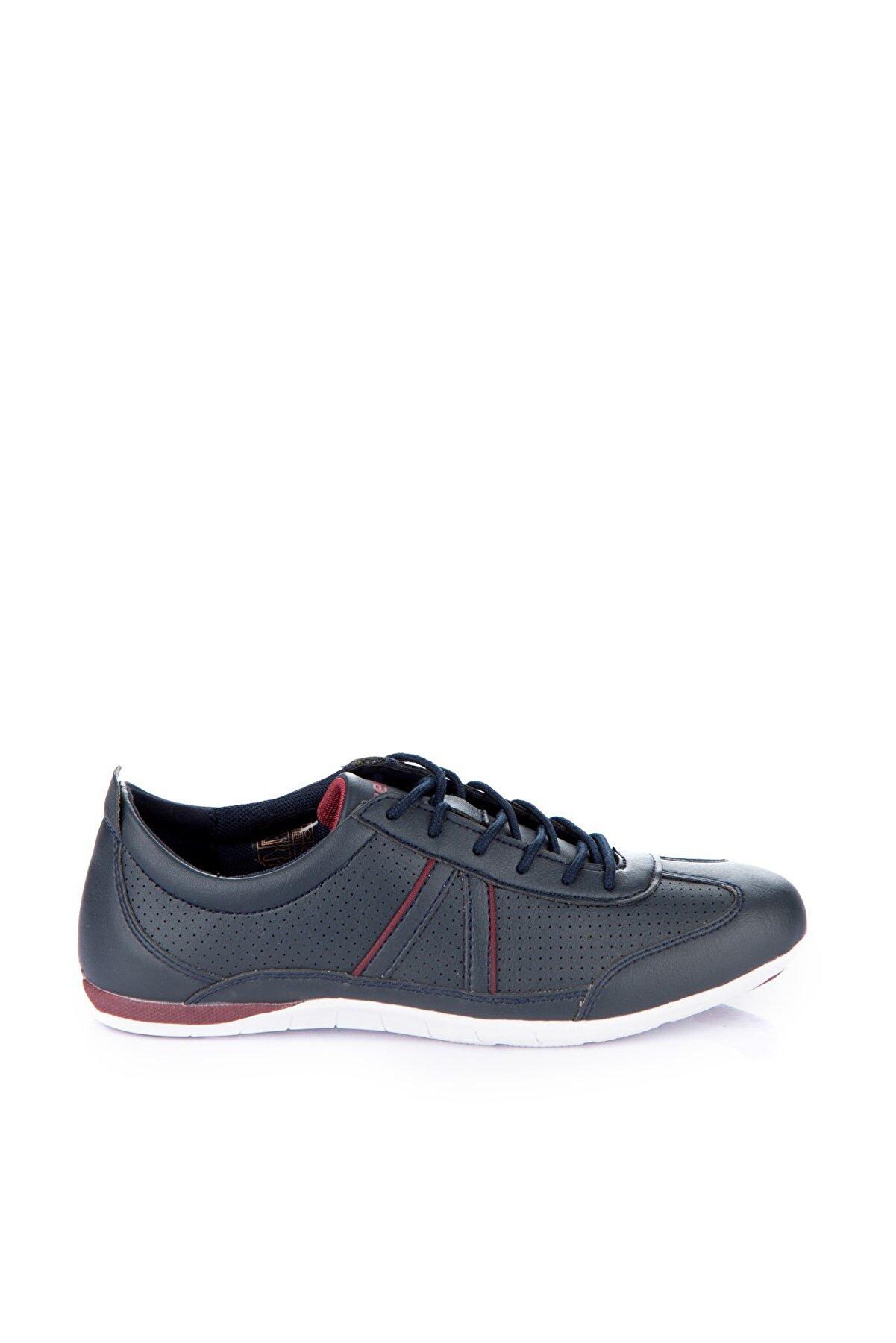 Kinetix 1232440 Lacivert Bordo Kadın Sneaker 100181107