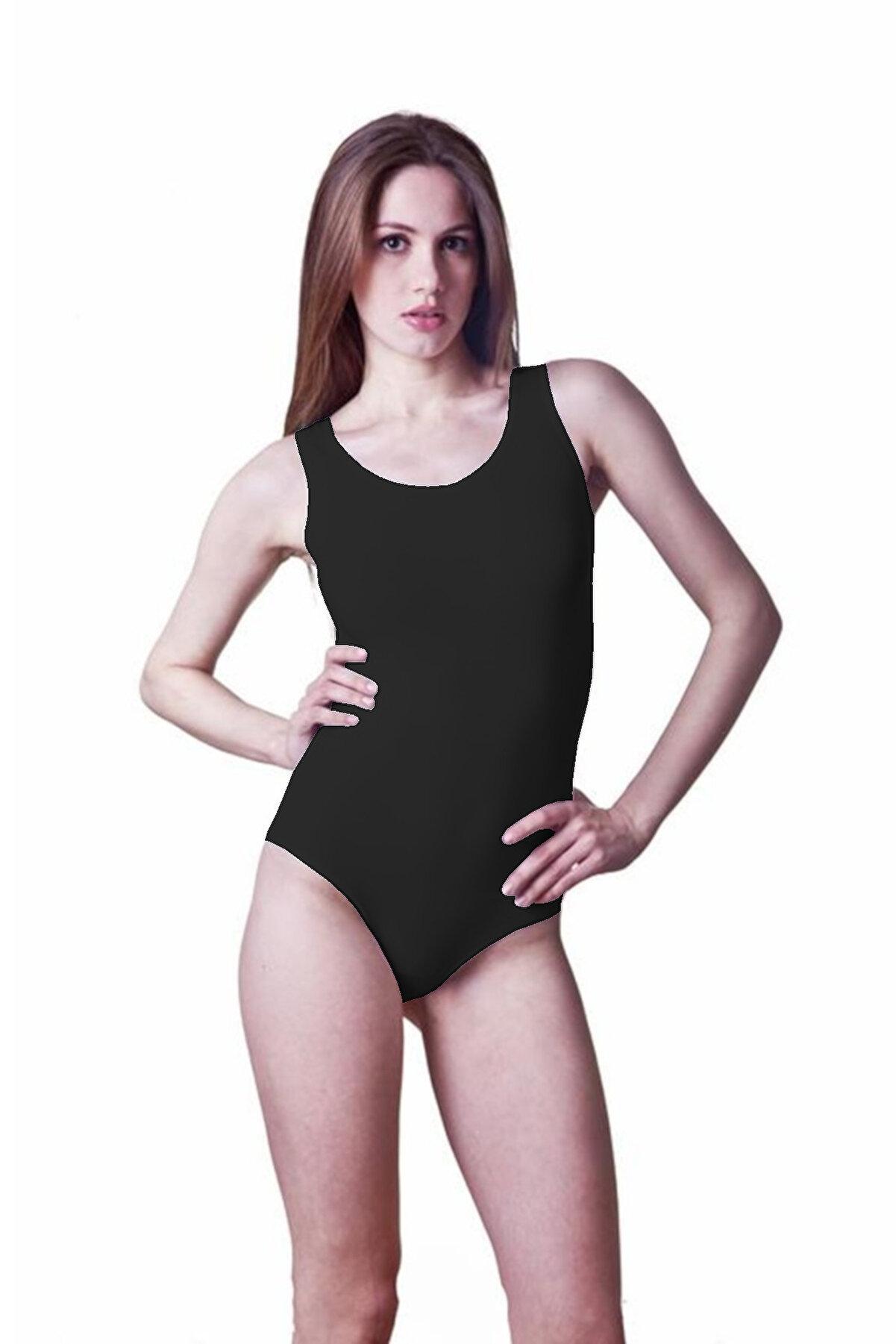 Dono Askılı Çıtçıtlı Kadın Body