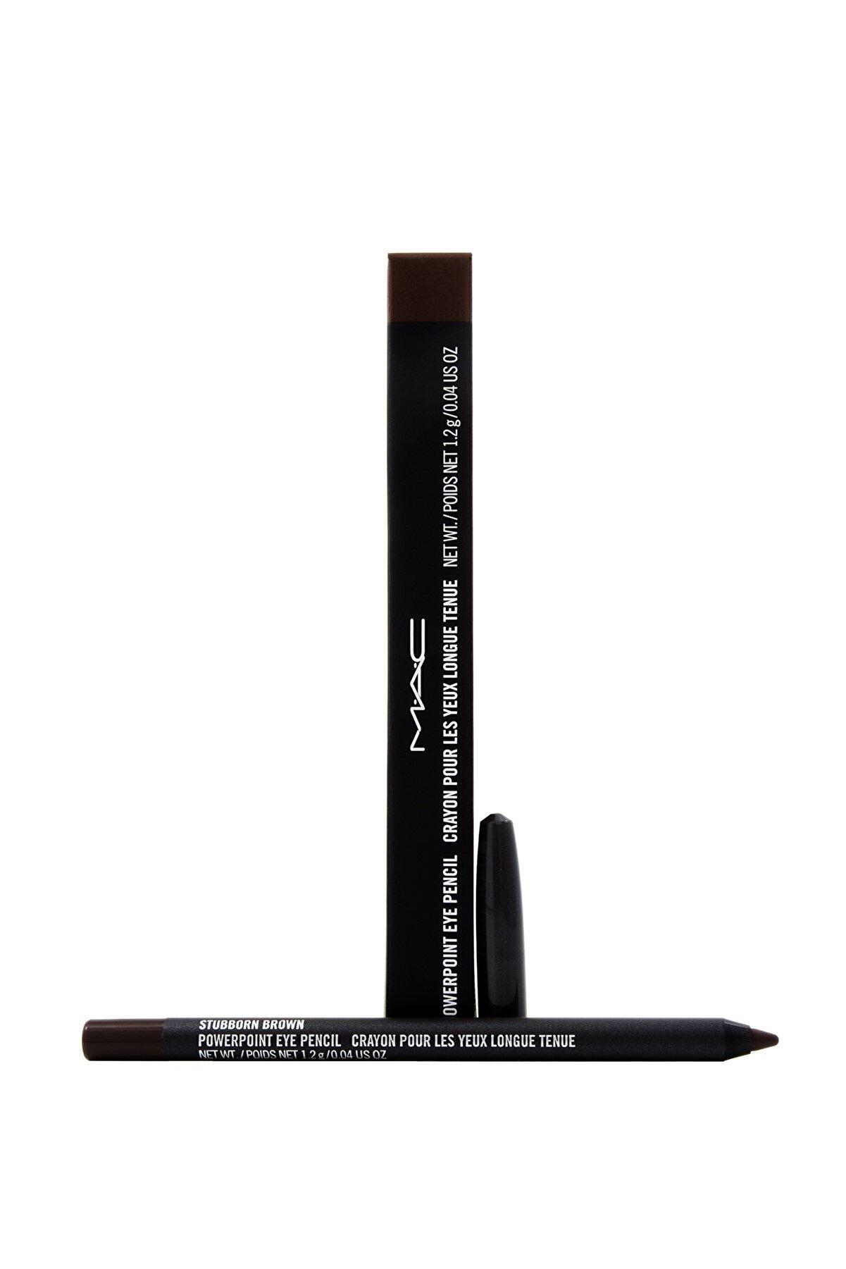 Mac Göz Kalemi - Powerpoint Eye Pencil Stubborn Brown 1.2 g 773602054381