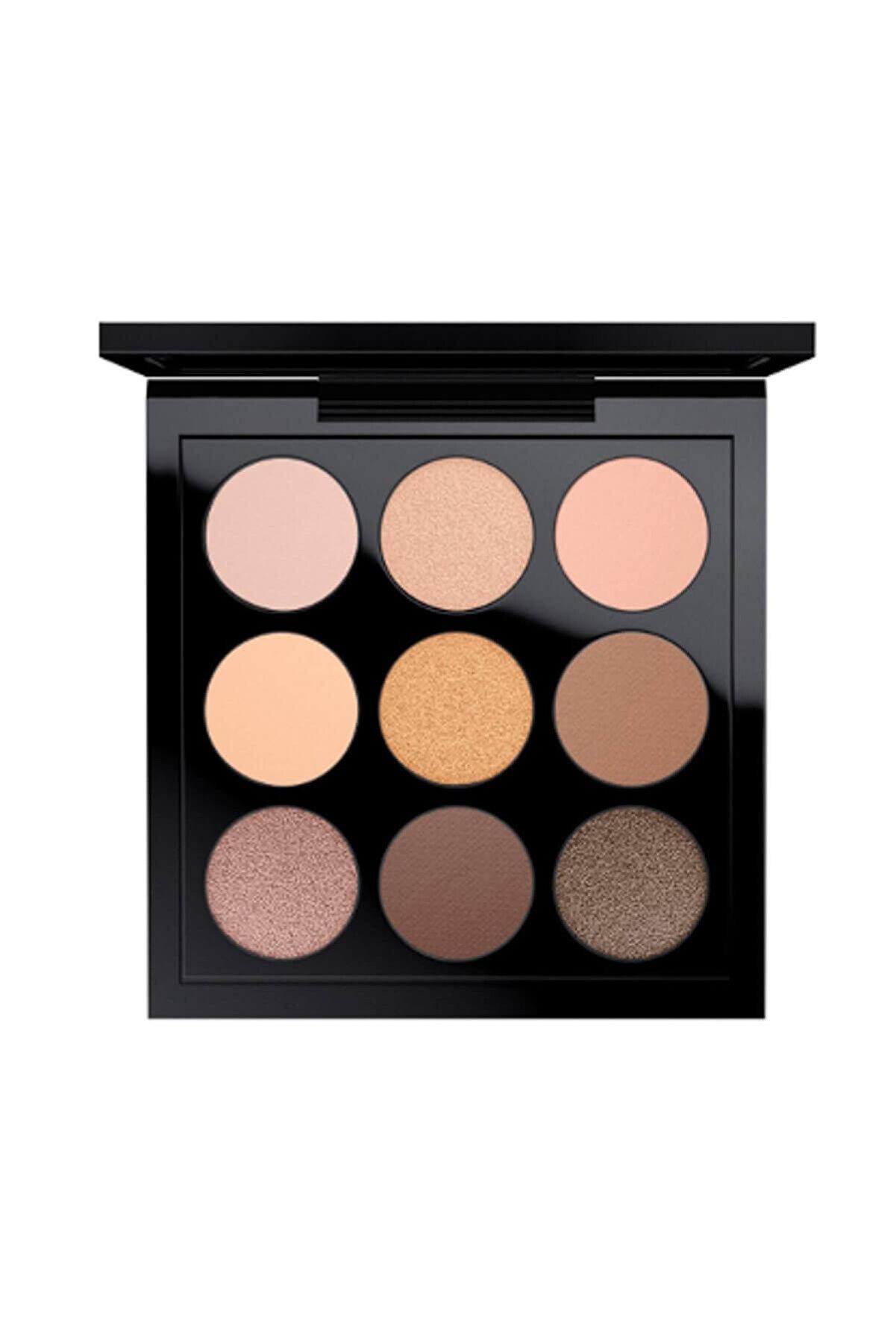 Mac Göz Farı Paleti - Eye Shadow x 9: Amber Times Nine 773602510443