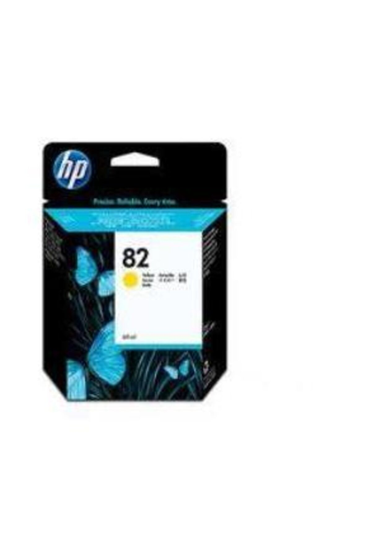 HP C4913A DesignJet 500/800 Serisi Sarı Kartuş No:82