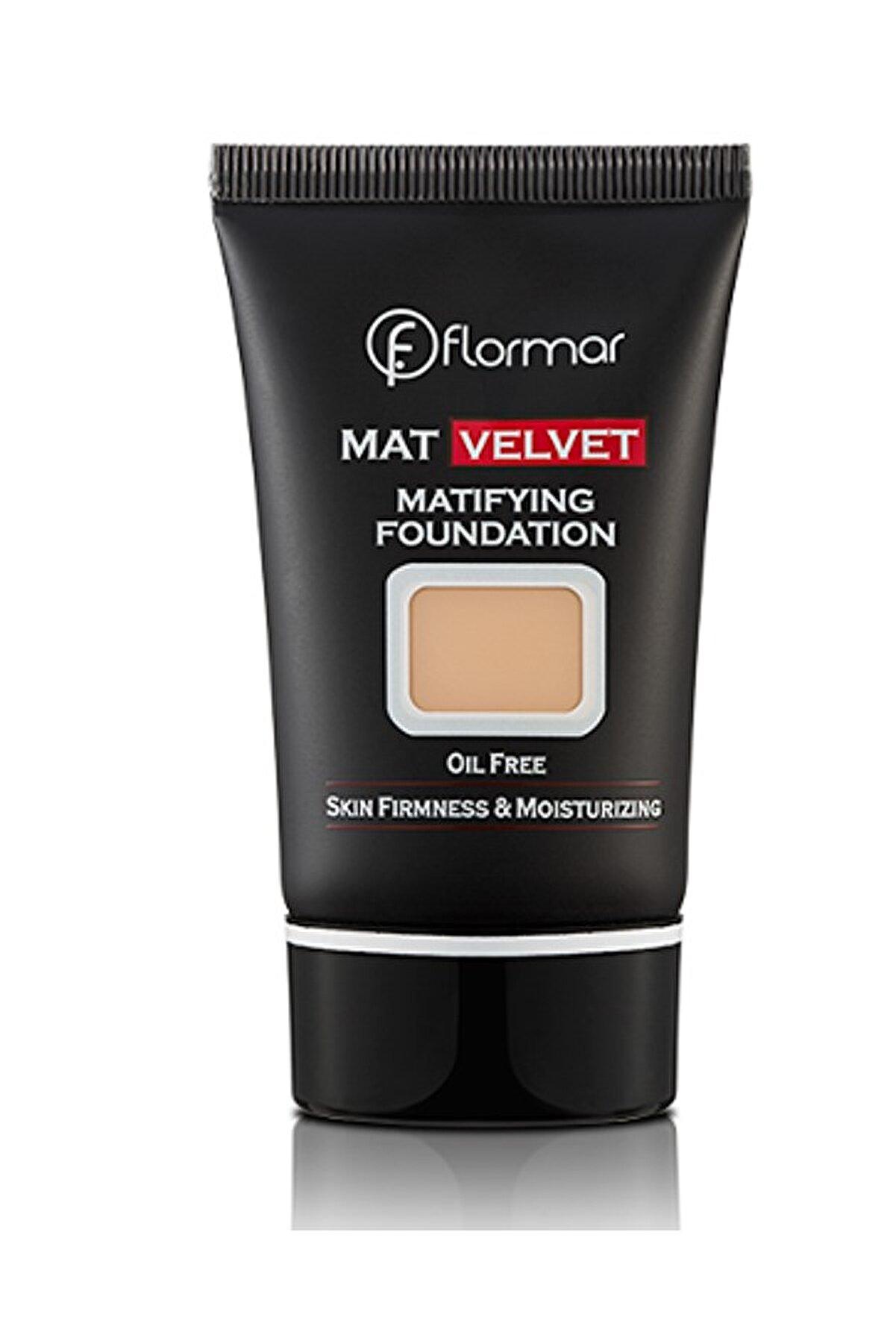 Flormar Mat Fondöten - Velvet Matifying Foundation V20 8690604130597