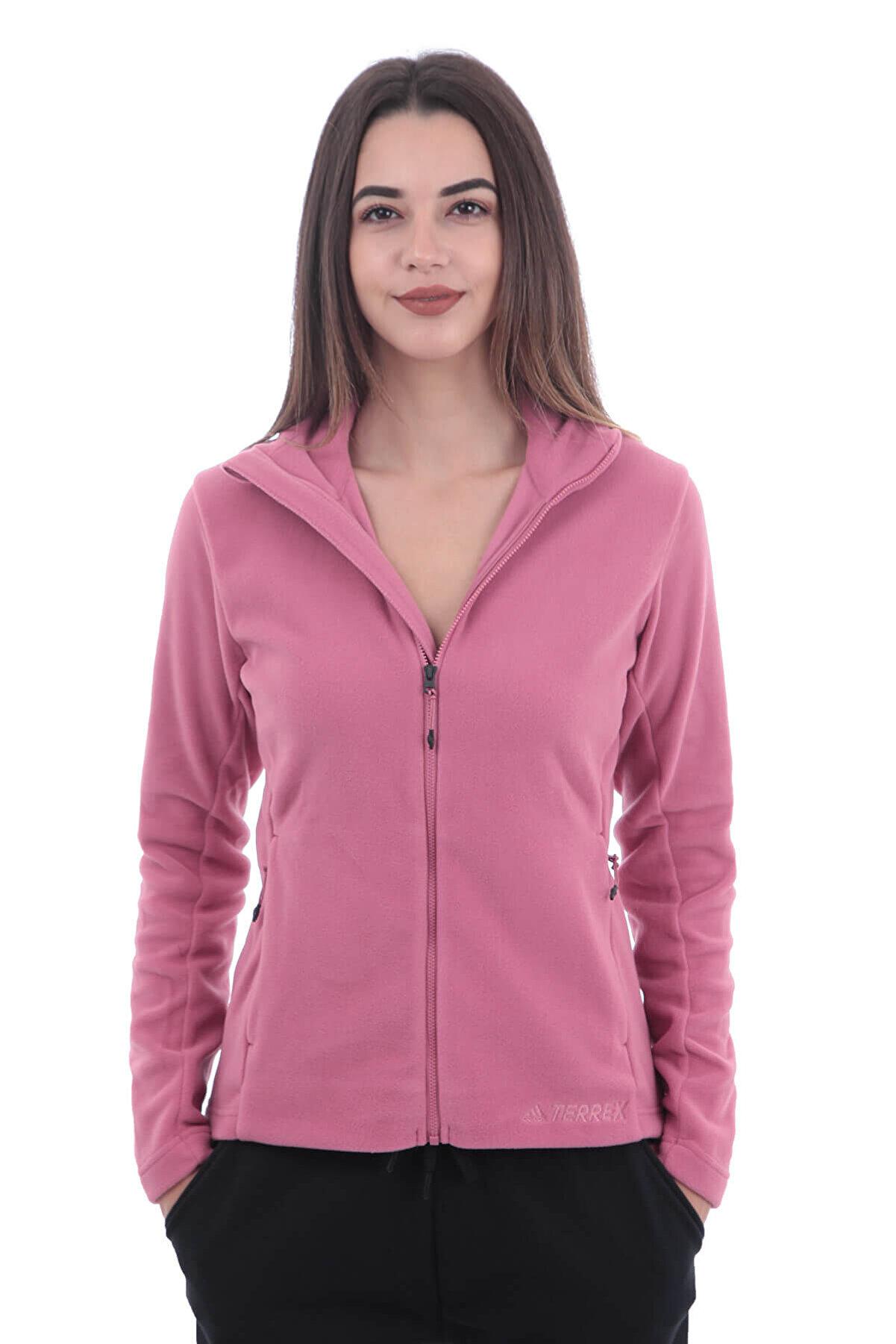 adidas Kadın Sweatshirt - W Tivid Fl Jk - CY8694