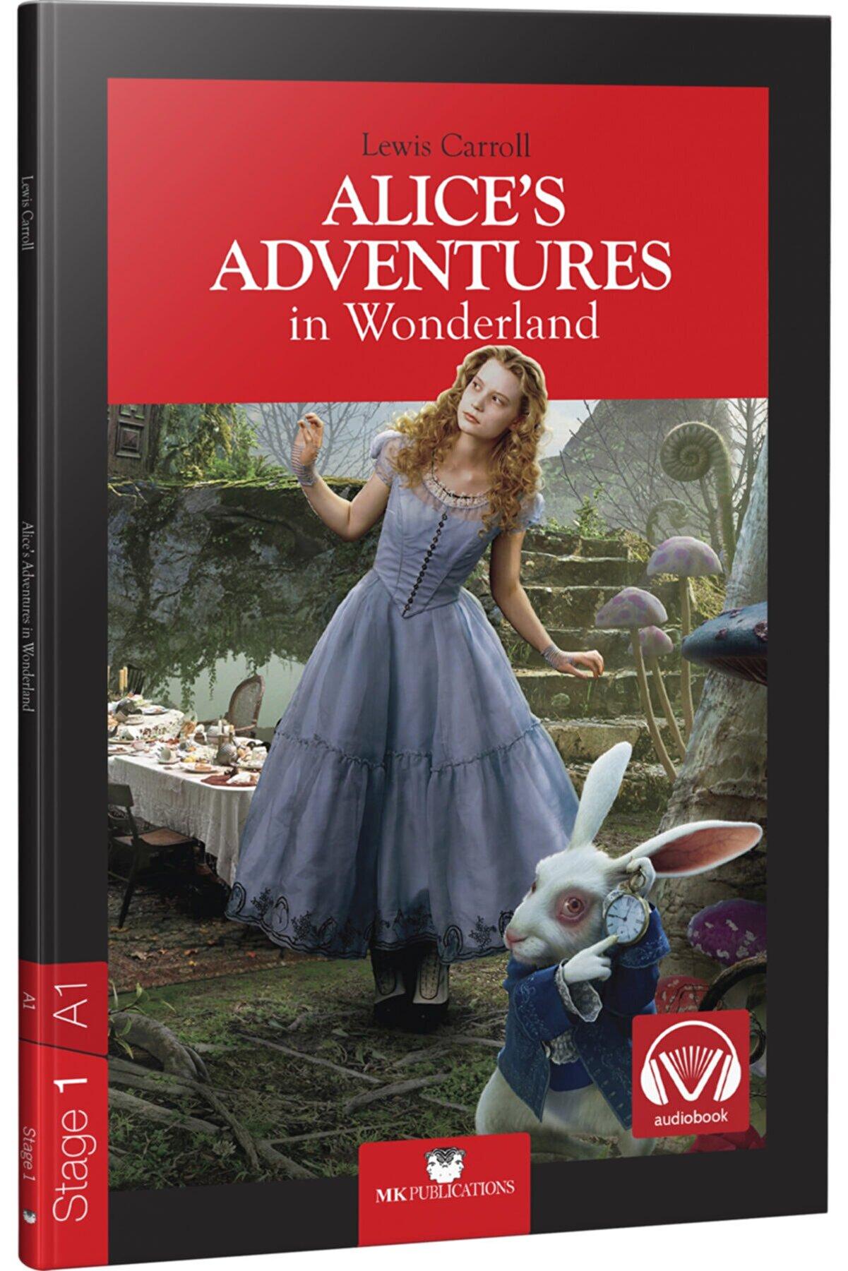 MK Publications Ingilizce Hikaye - Alice's Adventures In Wonderland - ( A.1 Stage - 1 ) 64 Sf. Mk Publicatios