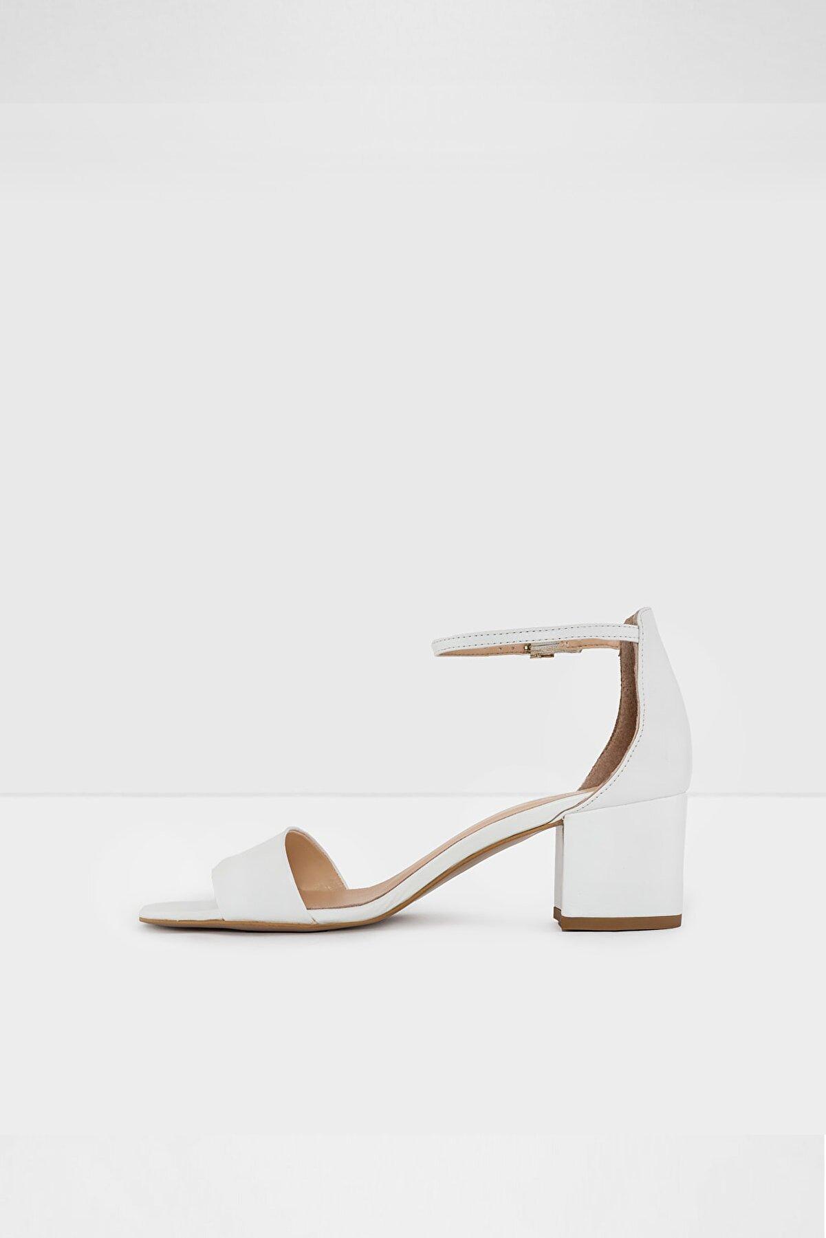 Aldo Kadın Beyaz Topuklu Sandalet Vıllarosa