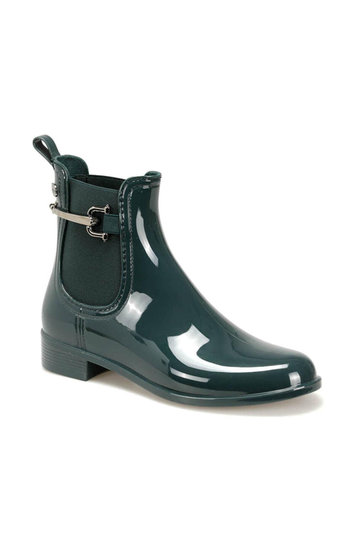 IGOR W10173 Urban Trabilla-013 Haki Kadın Yağmur Çizmesi 100386348