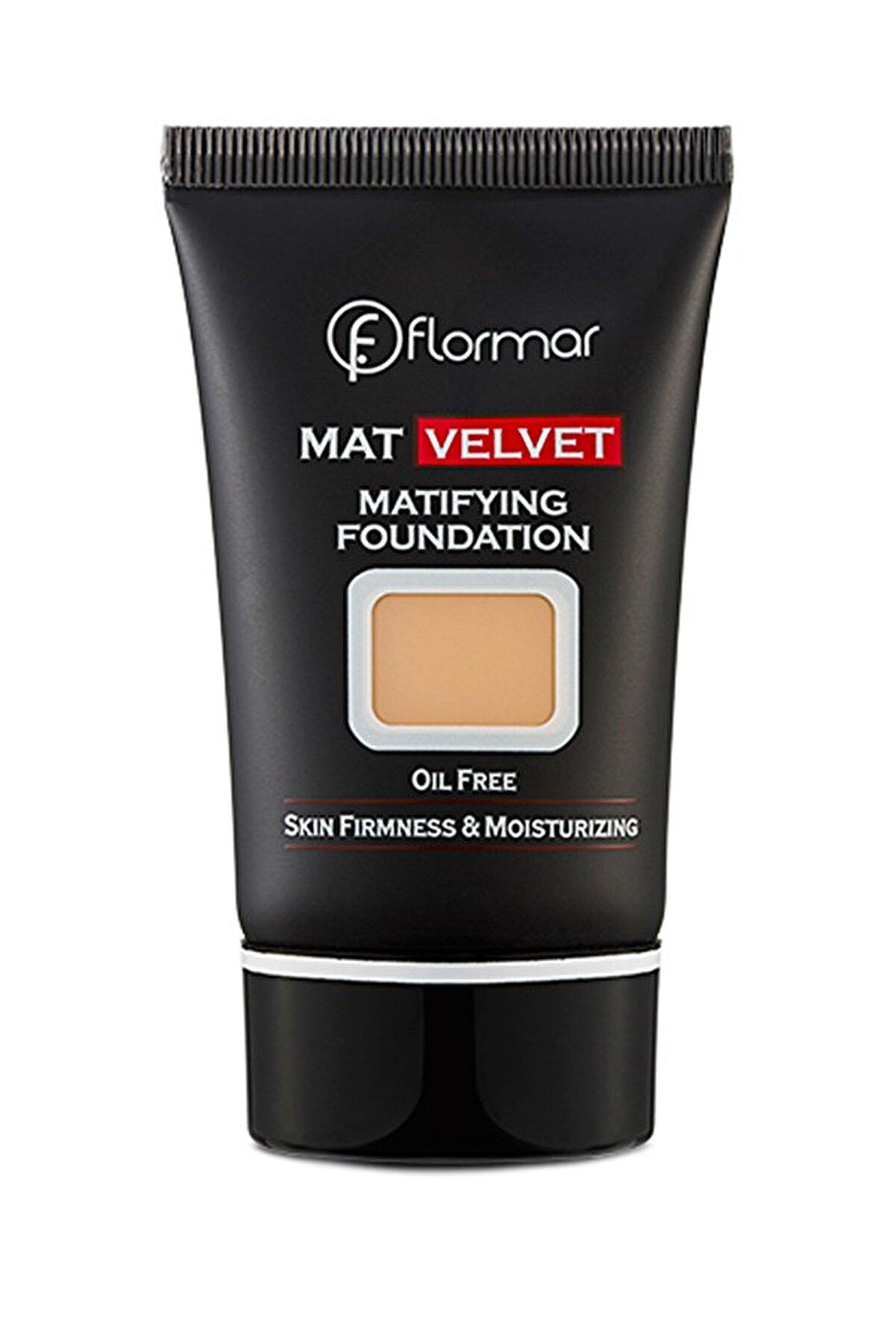 Flormar Fondöten - Mat Velvet Matifying Foundation No: 206