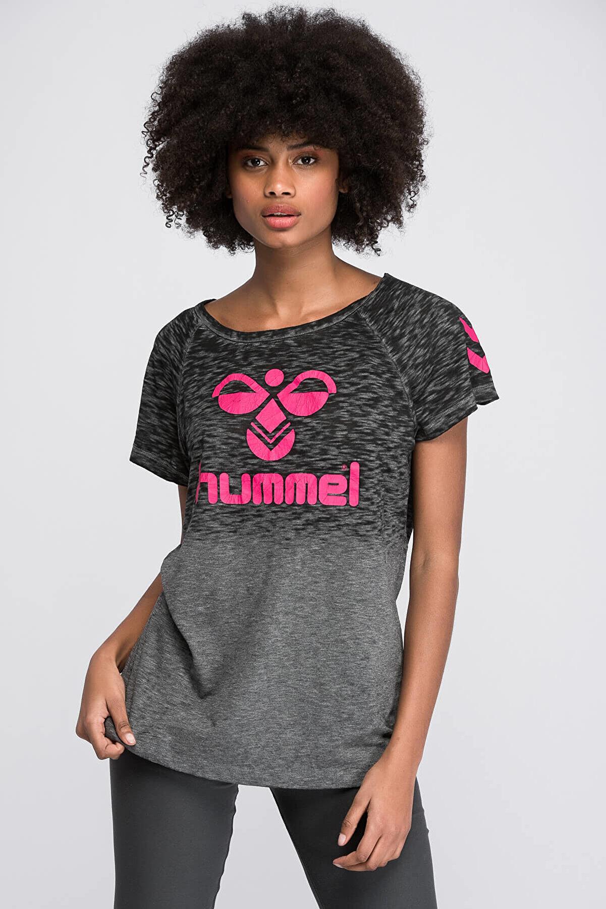 HUMMEL BRIANNA SS TEE Gri Kadın T-Shirt 100579930