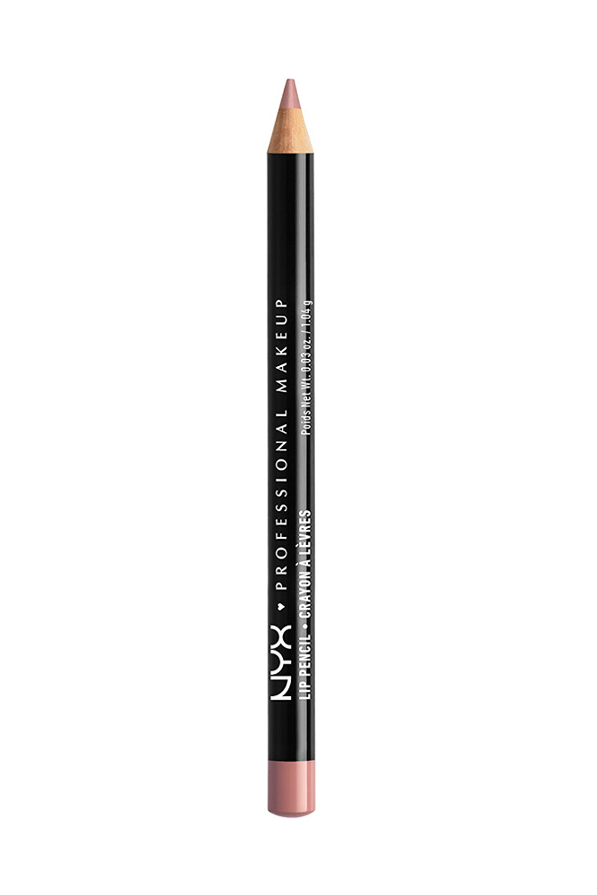 NYX Professional Makeup Dudak Kalemi - Slim Lip Pencil Pale Pink 800897139407