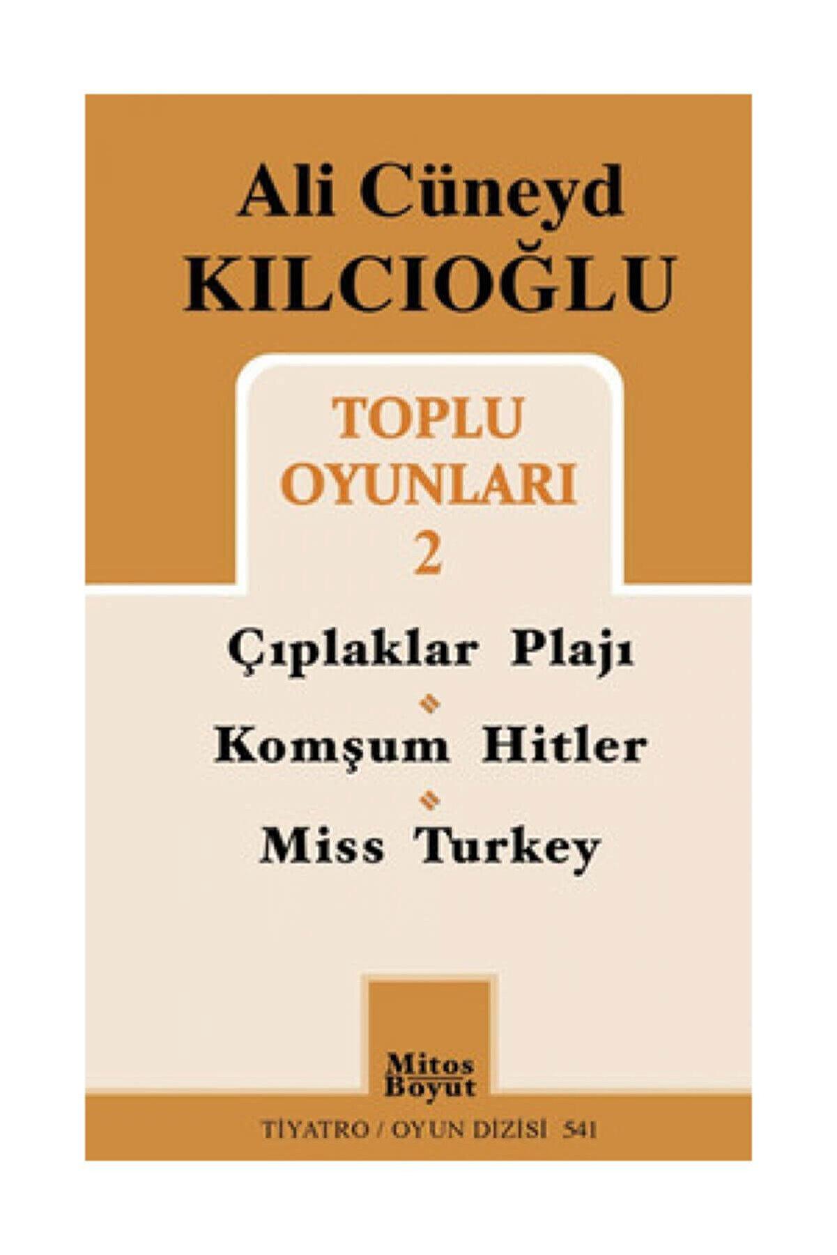 Mitos Boyut Yayınları Ali Cüneyd Kılcıoğlu Toplu Oyunları 2