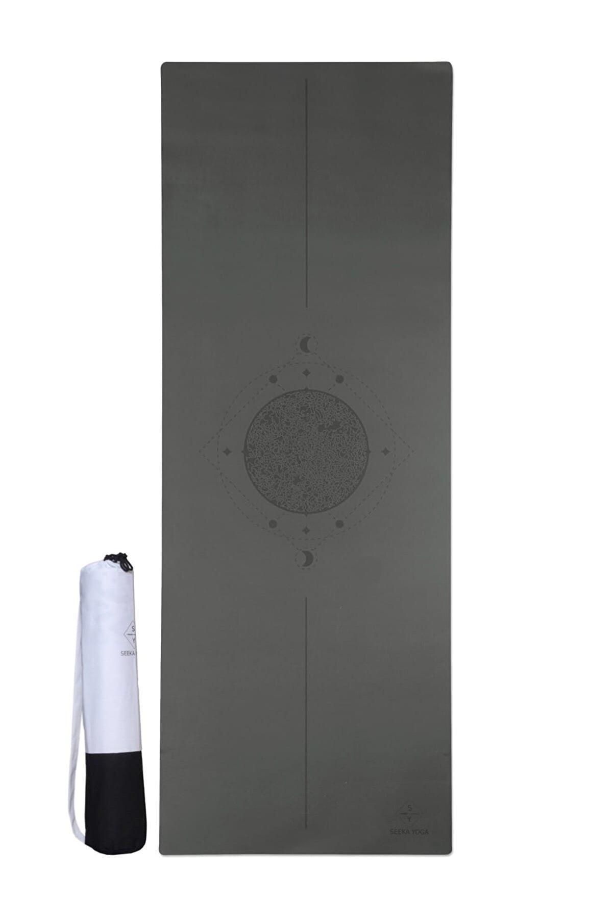SEEKA Pro Serisi Yoga Matı Charcoal