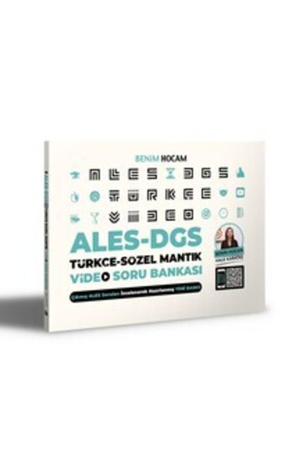 Benim Hocam Yayınları 2021 Ales Dgs Türkçe Sözel Mantık Video Soru Bankası