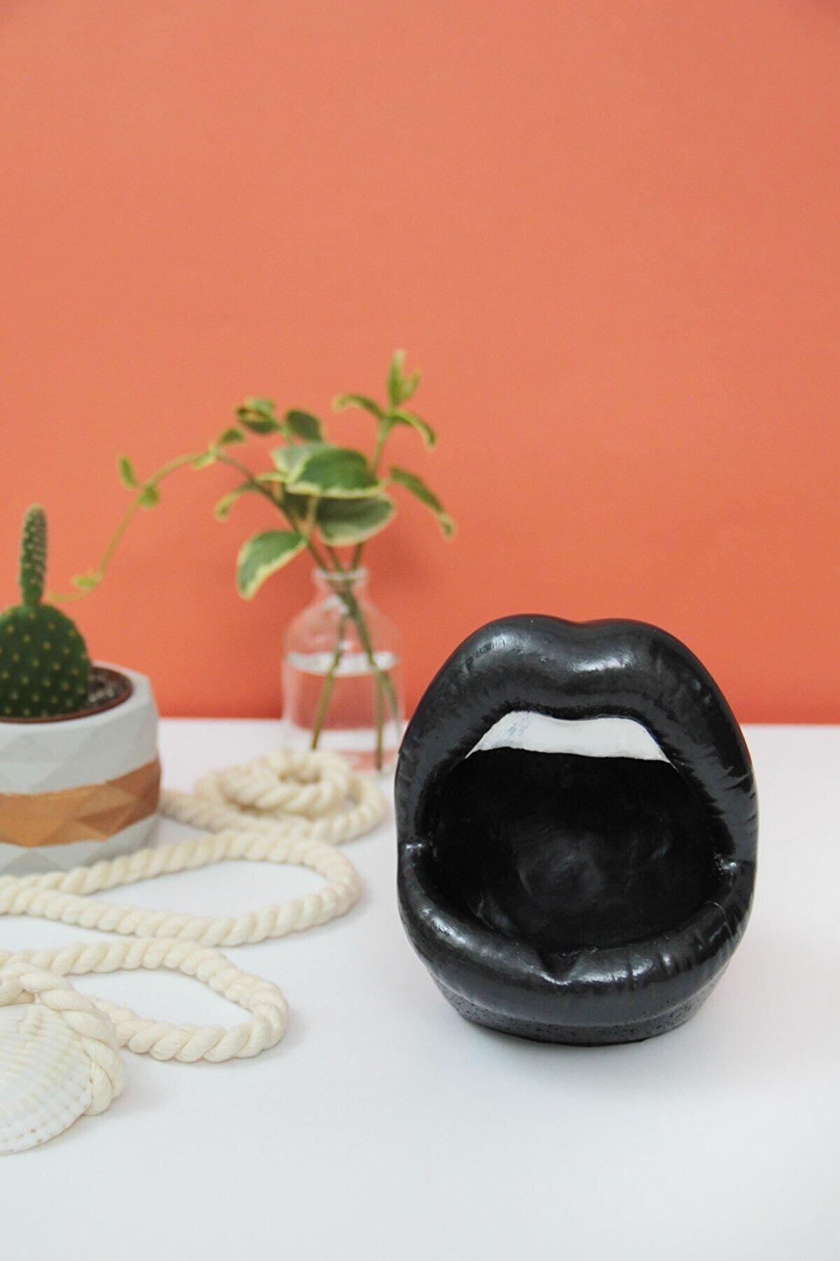 Esafe Home Dudak Modelli Küllük & Saksı